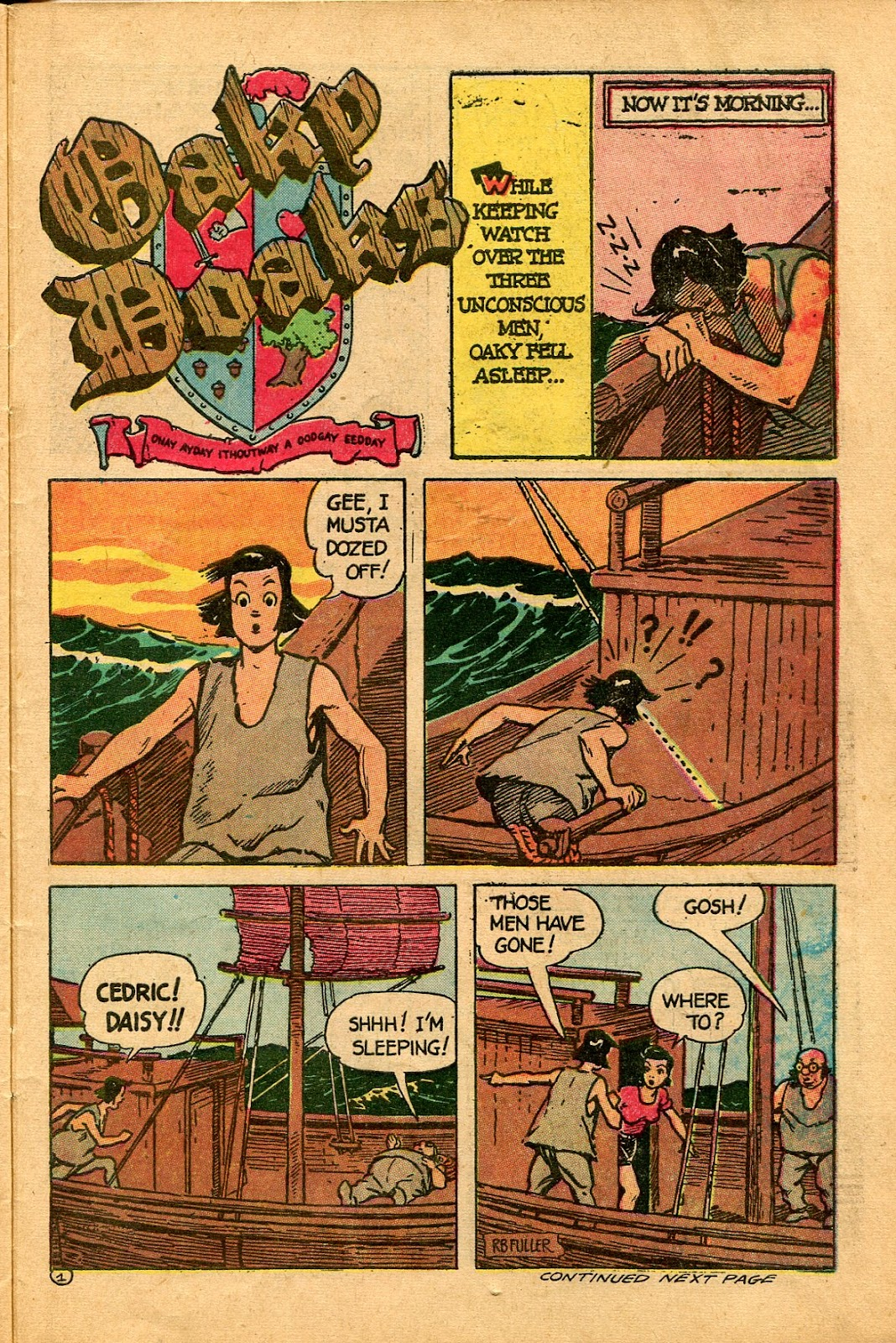 Read online Famous Funnies comic -  Issue #136 - 31