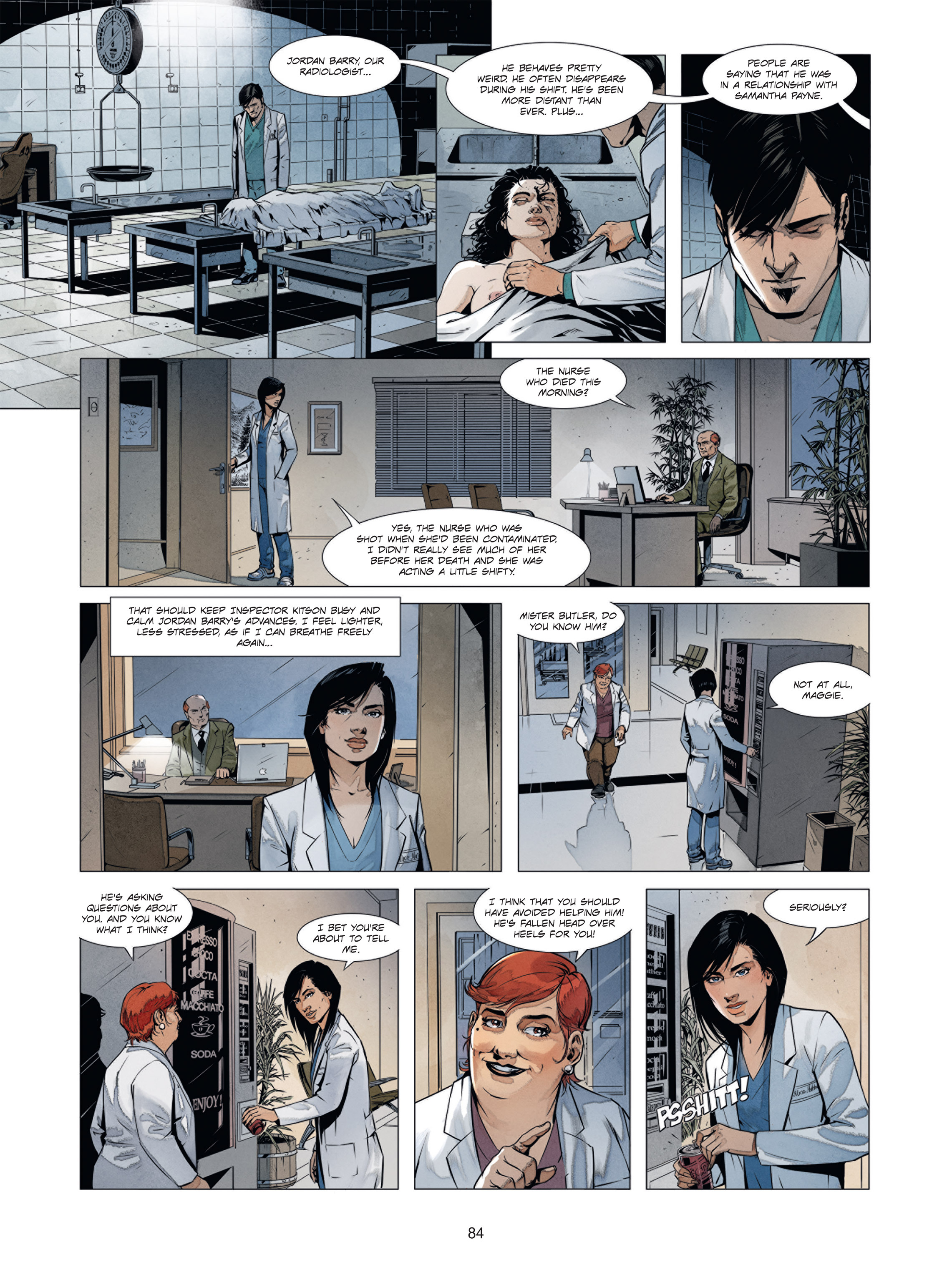 Read online Alice Matheson comic -  Issue #1 - 83