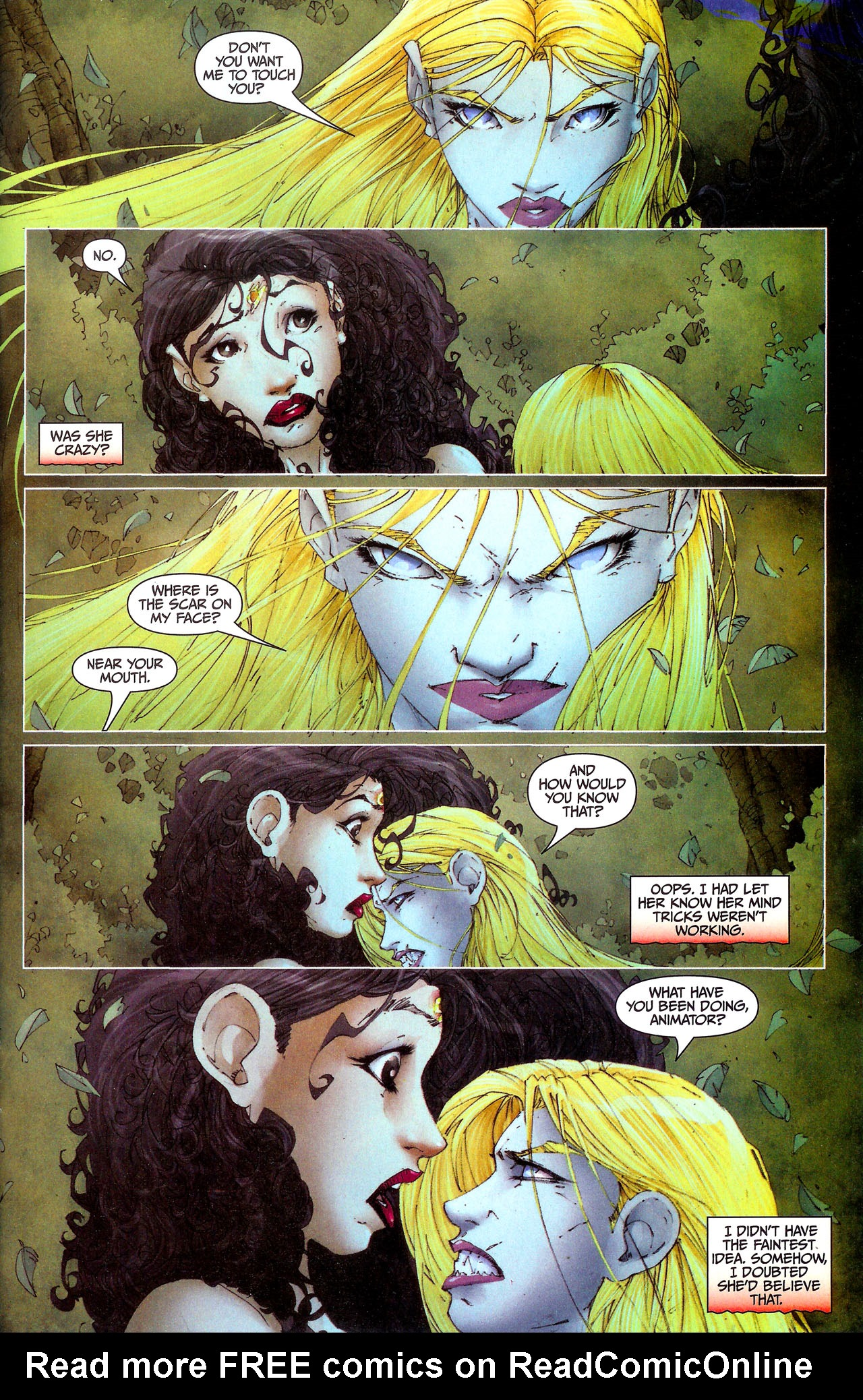 Read online Anita Blake, Vampire Hunter: Guilty Pleasures comic -  Issue #7 - 23