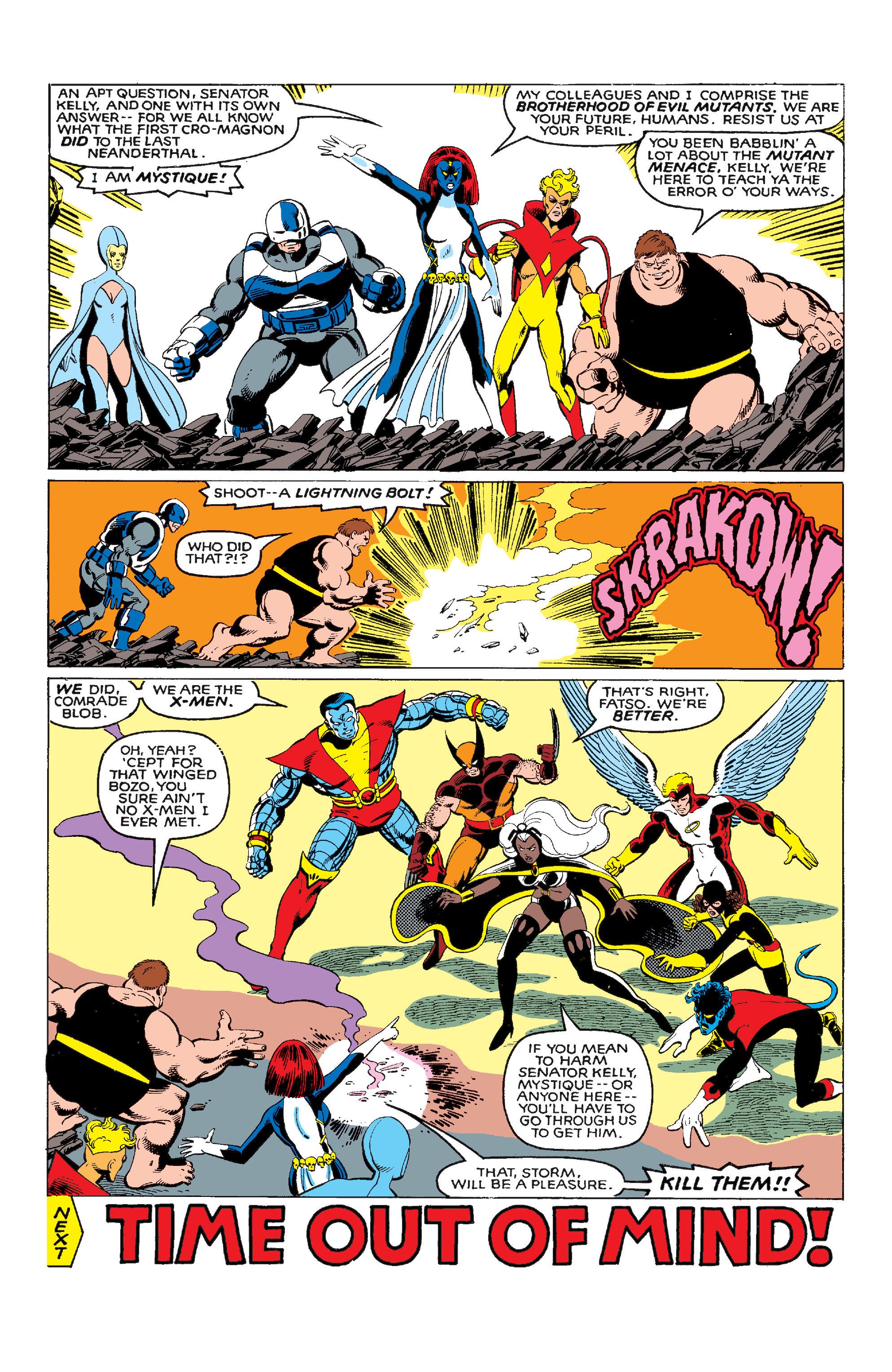 Uncanny X-Men (1963) 141 Page 22