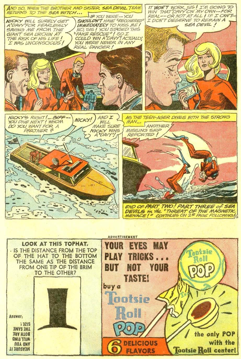 Read online Sea Devils comic -  Issue #12 - 16