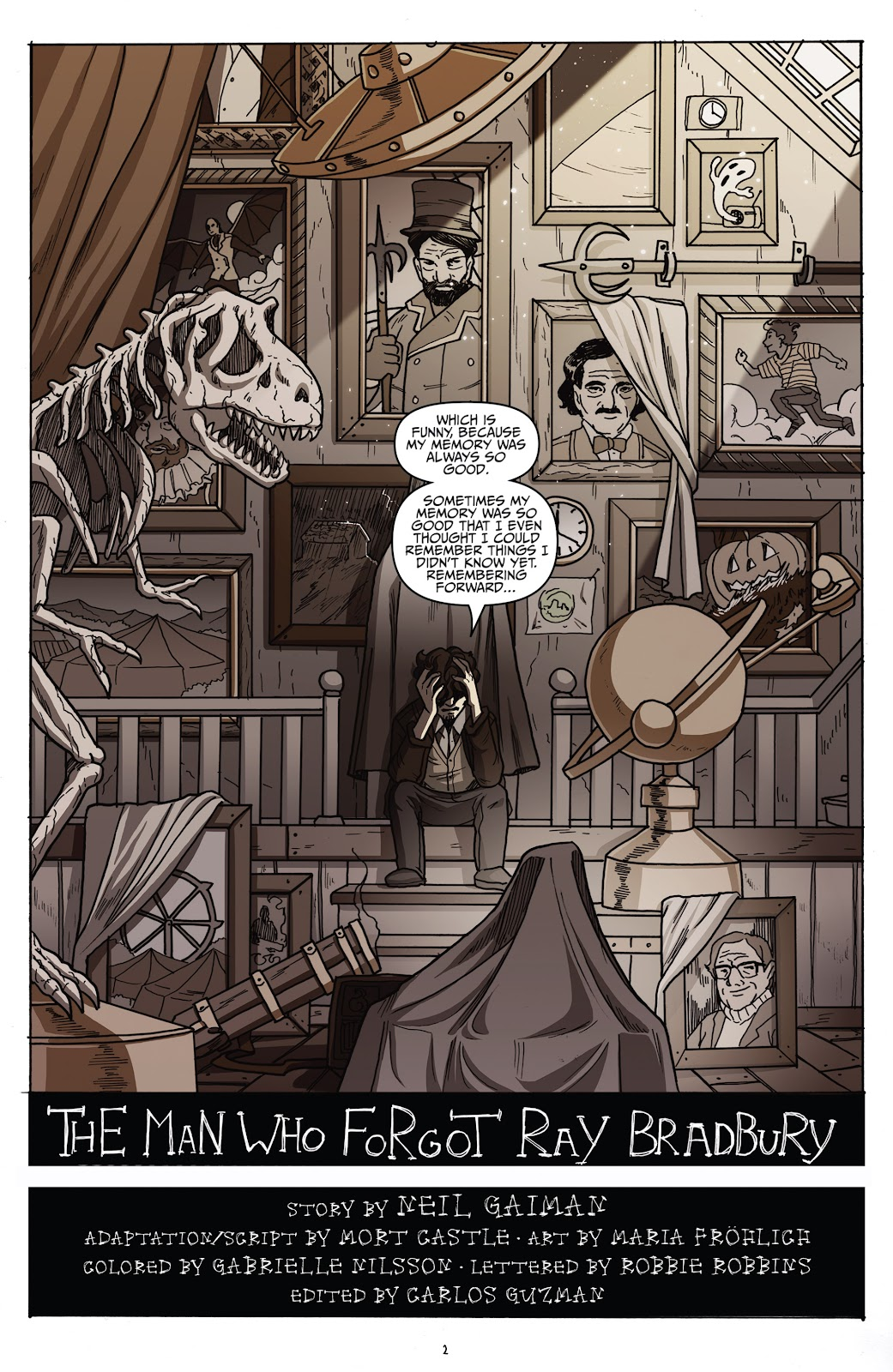 Read online Shadow Show: Stories in Celebration of Ray Bradbury comic -  Issue #2 - 4