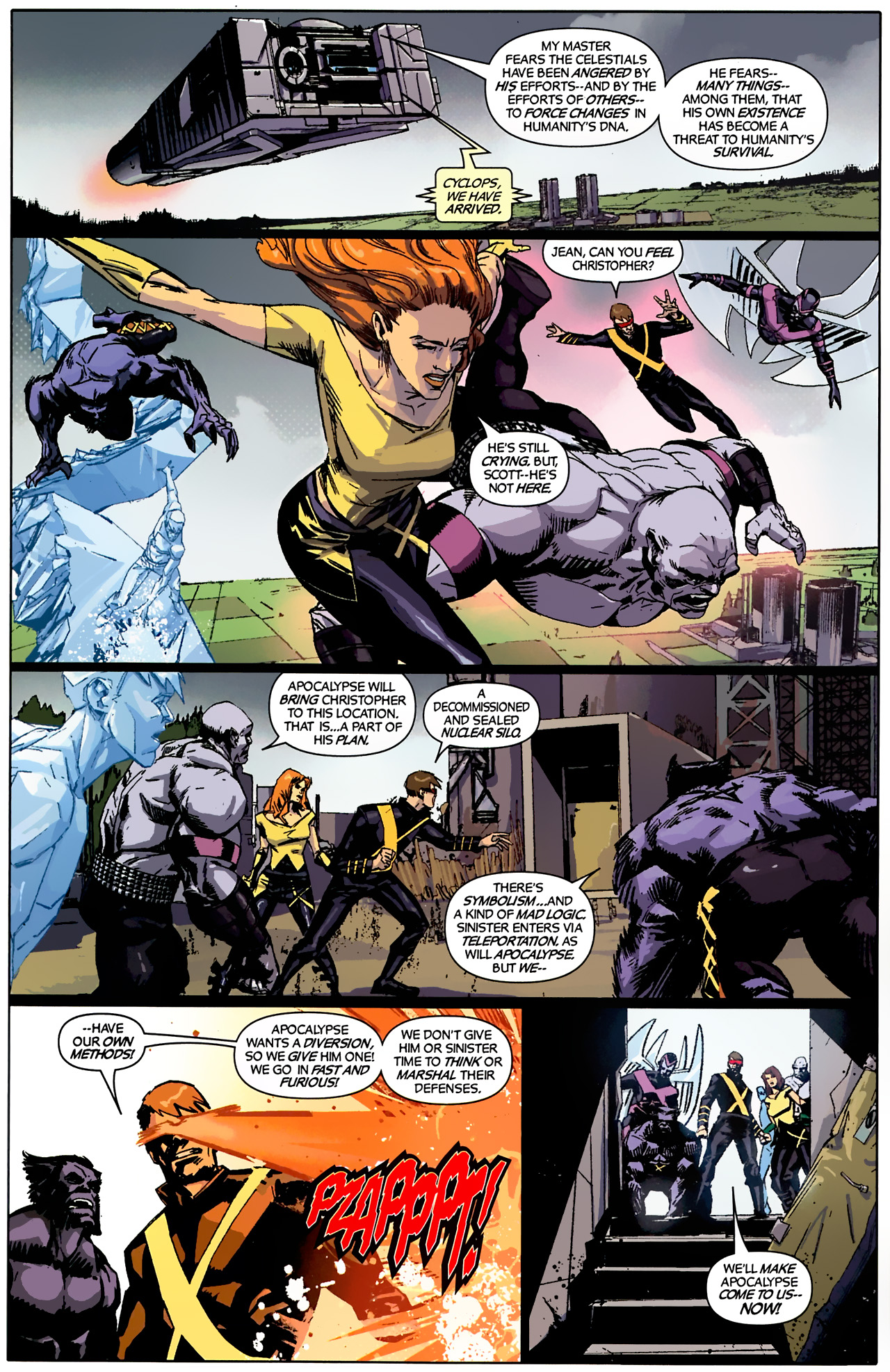 Read online X-Factor Forever comic -  Issue #4 - 10