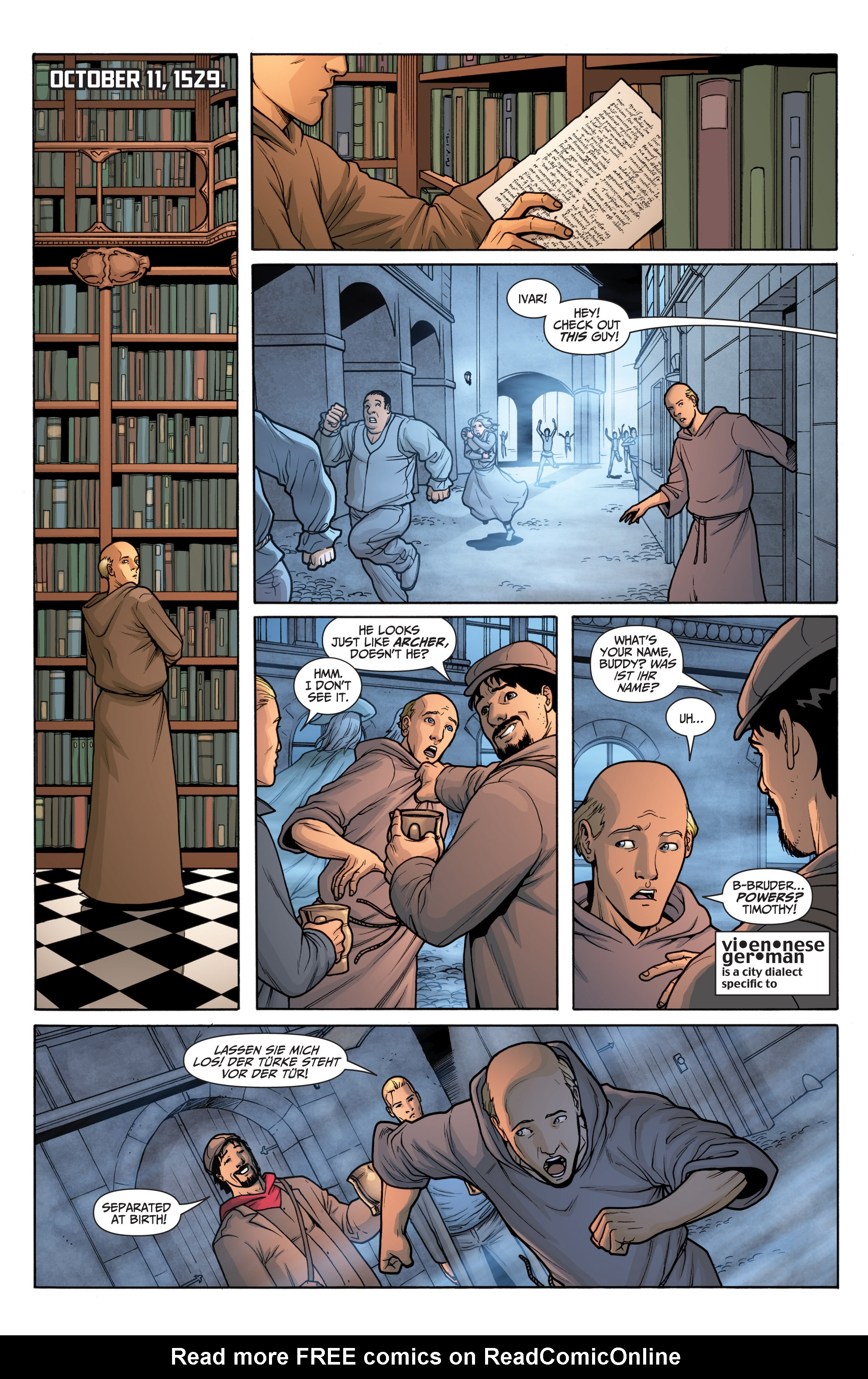 Read online Archer and Armstrong comic -  Issue #Archer and Armstrong _TPB 6 - 85