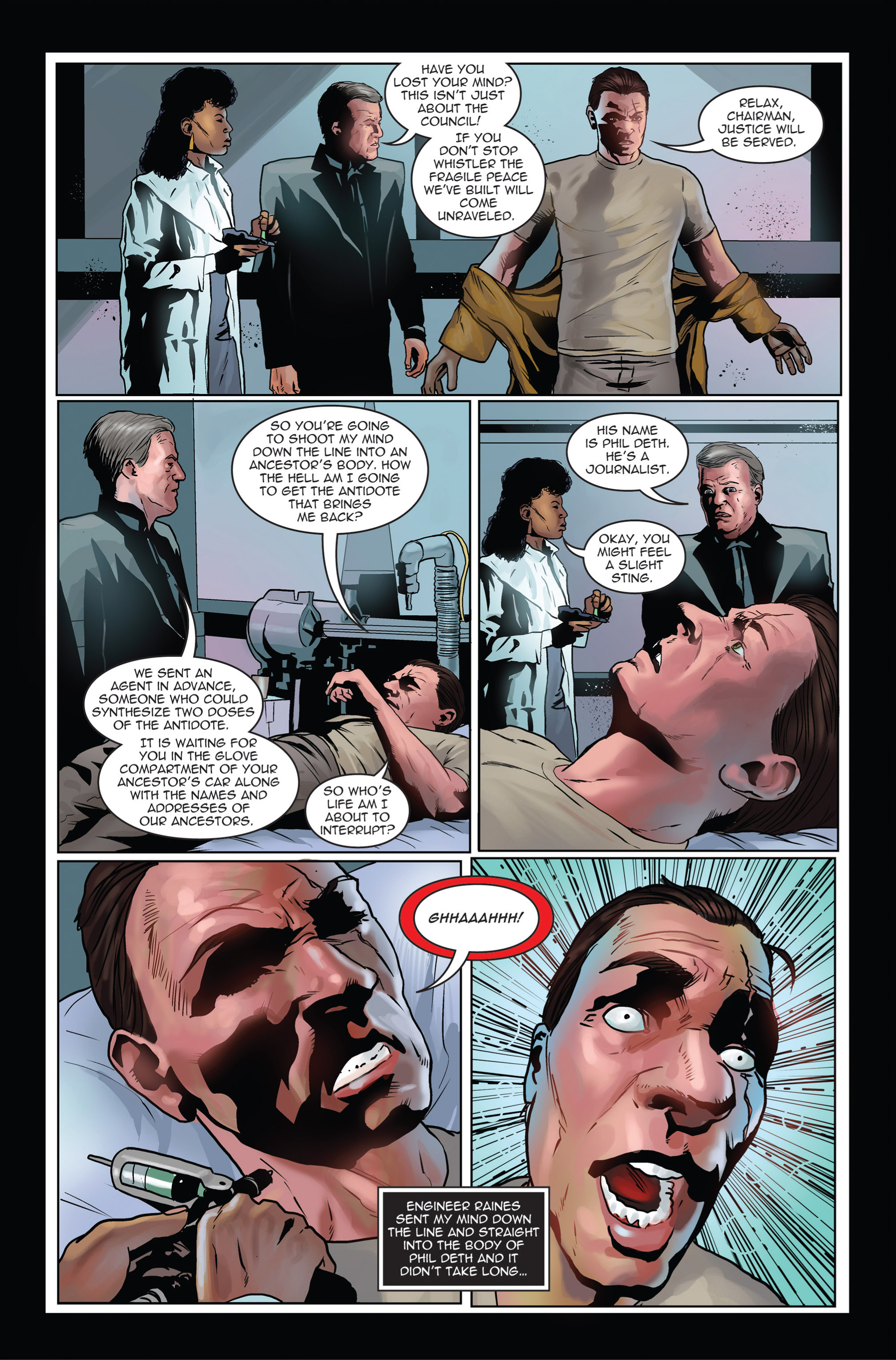 Read online Trancers comic -  Issue #1 - 24
