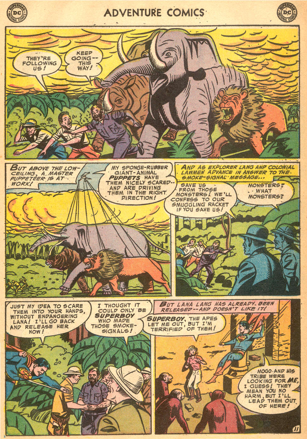 Read online Adventure Comics (1938) comic -  Issue #200 - 13