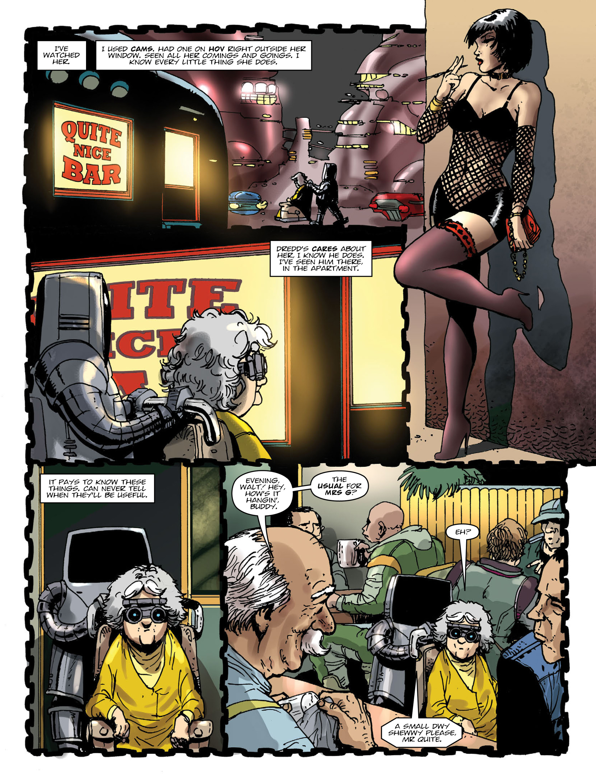 Read online 2000 AD comic -  Issue #1996 - 4