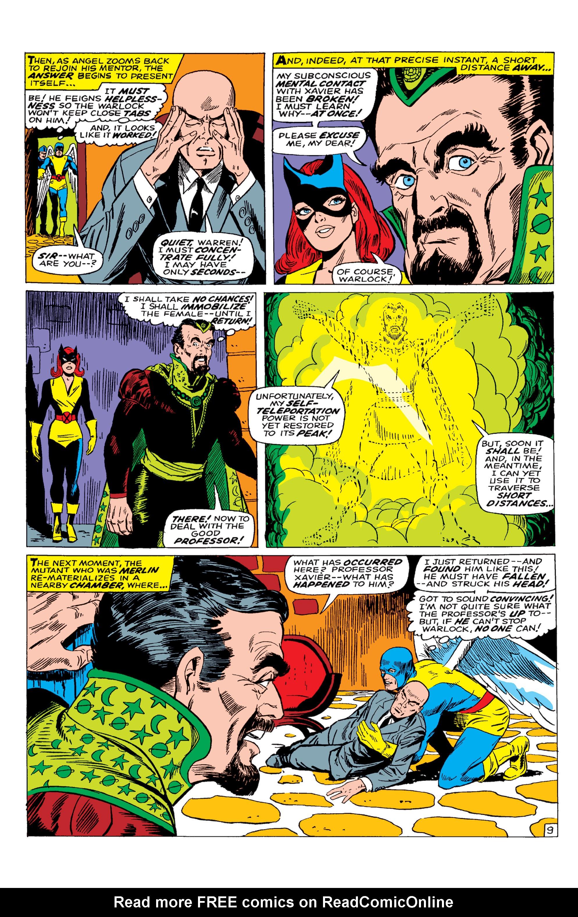 Uncanny X-Men (1963) 30 Page 9