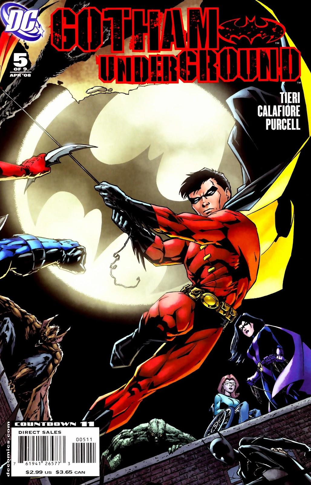 Gotham Underground issue 5 - Page 1