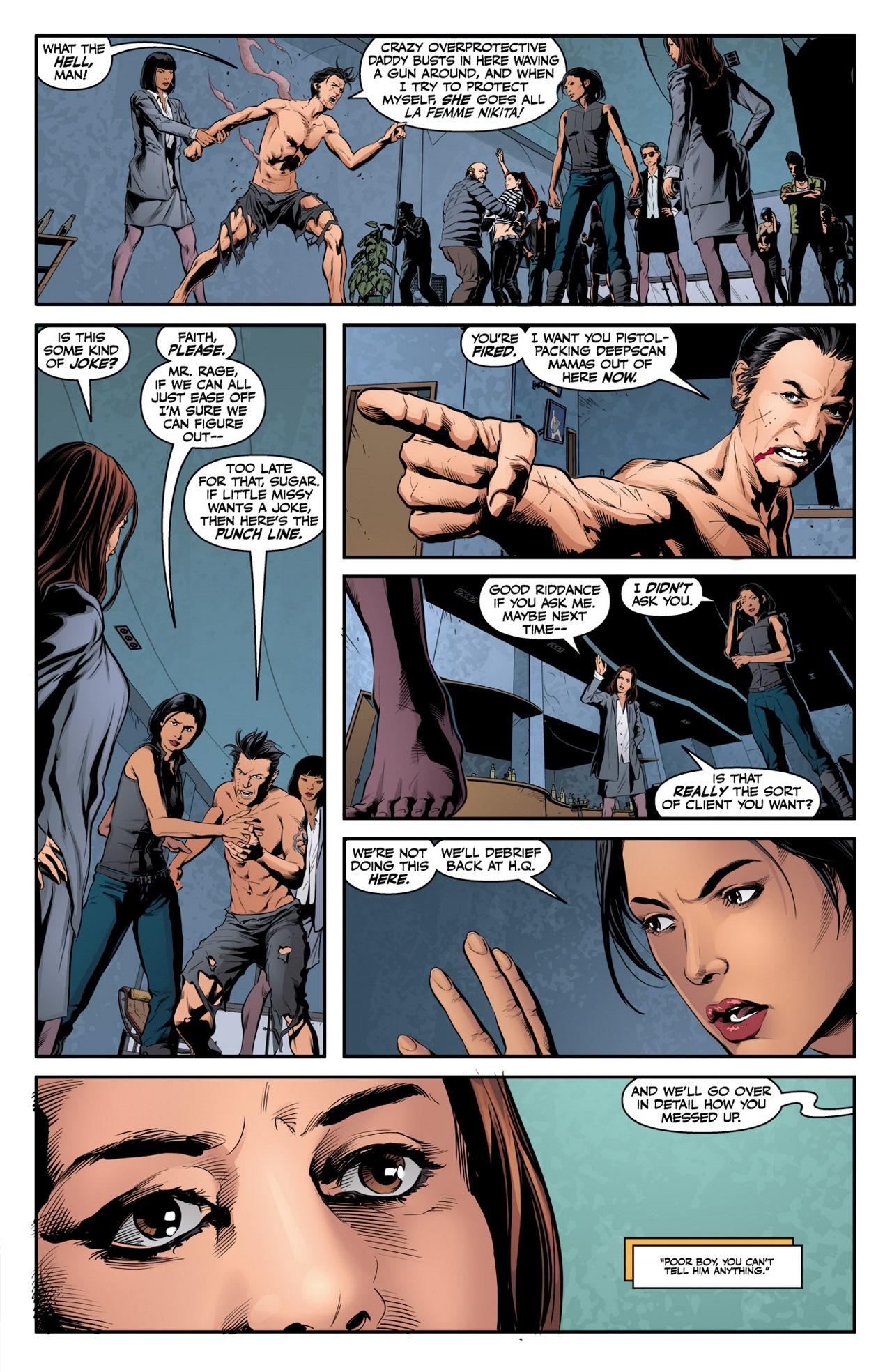 Read online Angel & Faith Season 10 comic -  Issue #3 - 7
