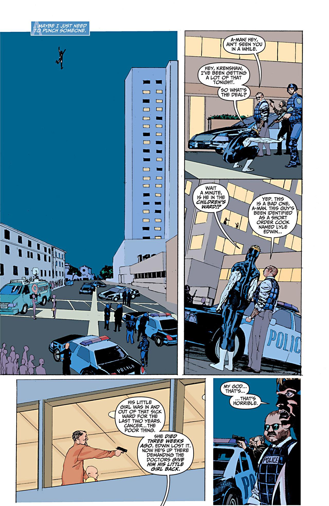 Read online Animal Man (2011) comic -  Issue #1 - 9