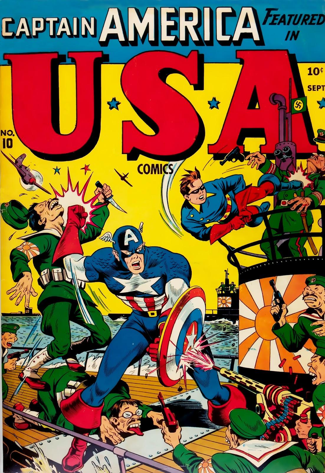 USA Comics issue 10 - Page 1
