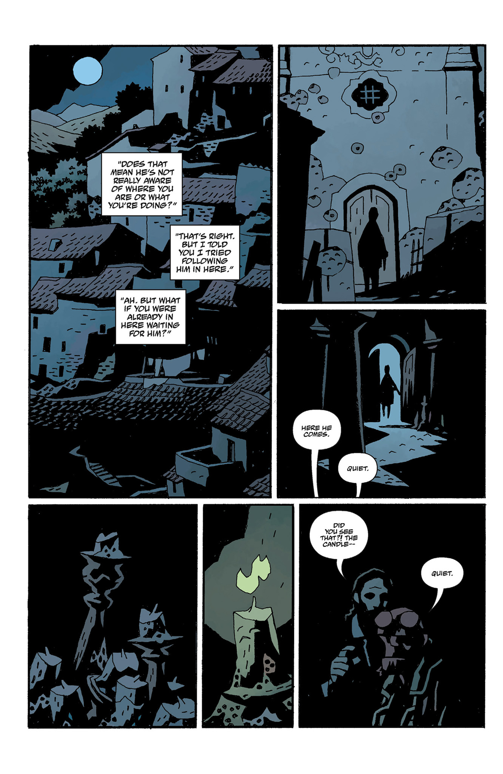 Read online Hellboy: The Crooked Man and Others comic -  Issue # TPB - 120