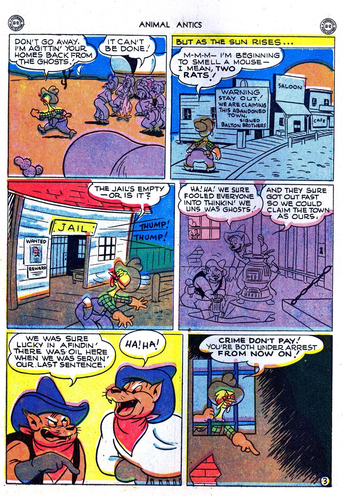 Read online Animal Antics comic -  Issue #5 - 14