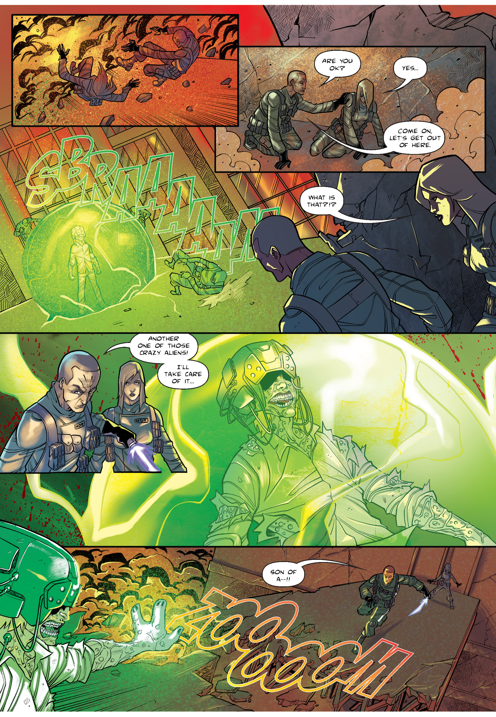 Read online The Shadow of a Terrible Thing comic -  Issue # TPB - 82