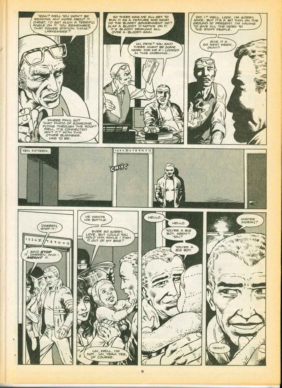 Warrior Issue #8 #9 - English 9