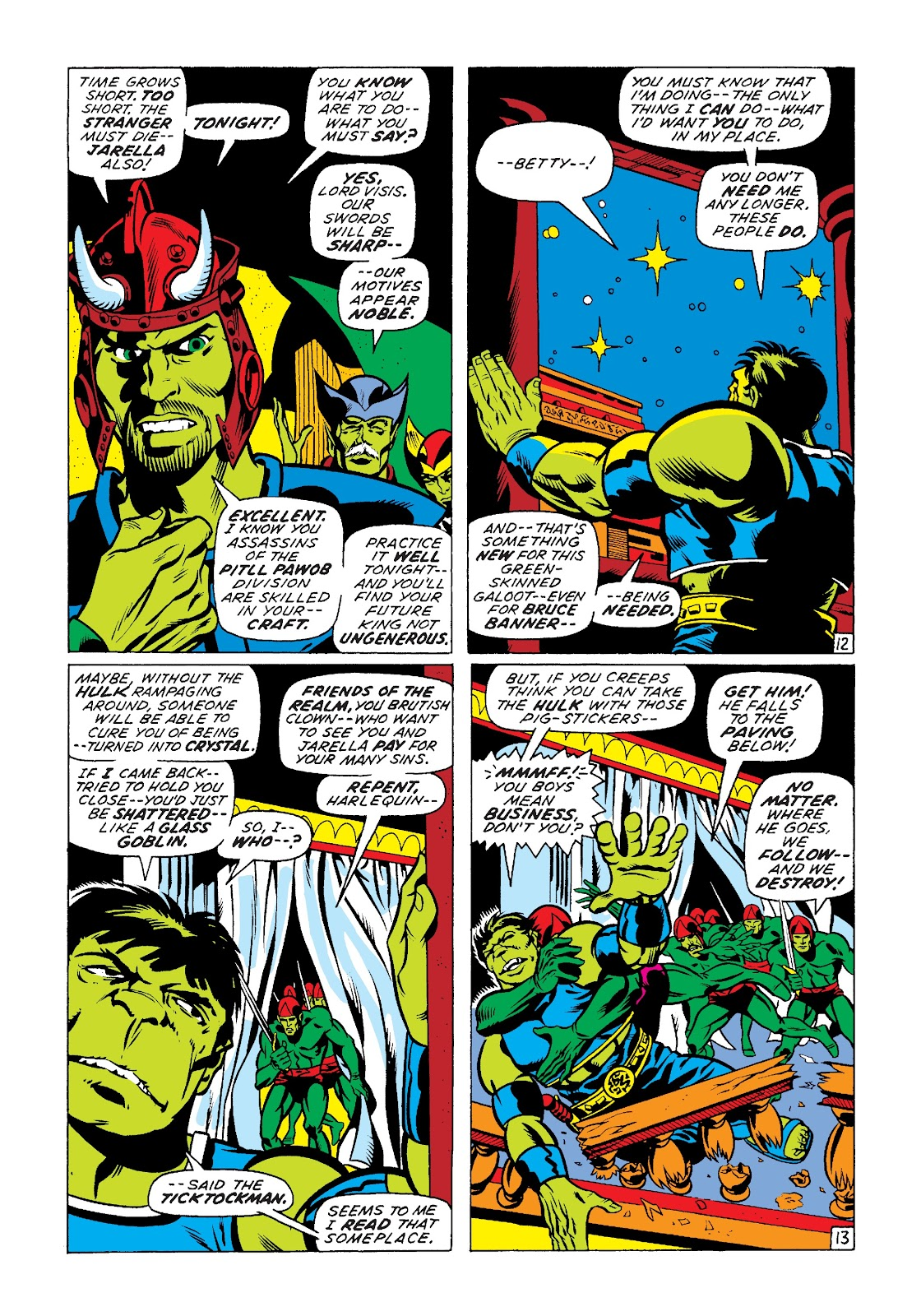 Read online Marvel Masterworks: The Incredible Hulk comic -  Issue # TPB 7 (Part 2) - 39