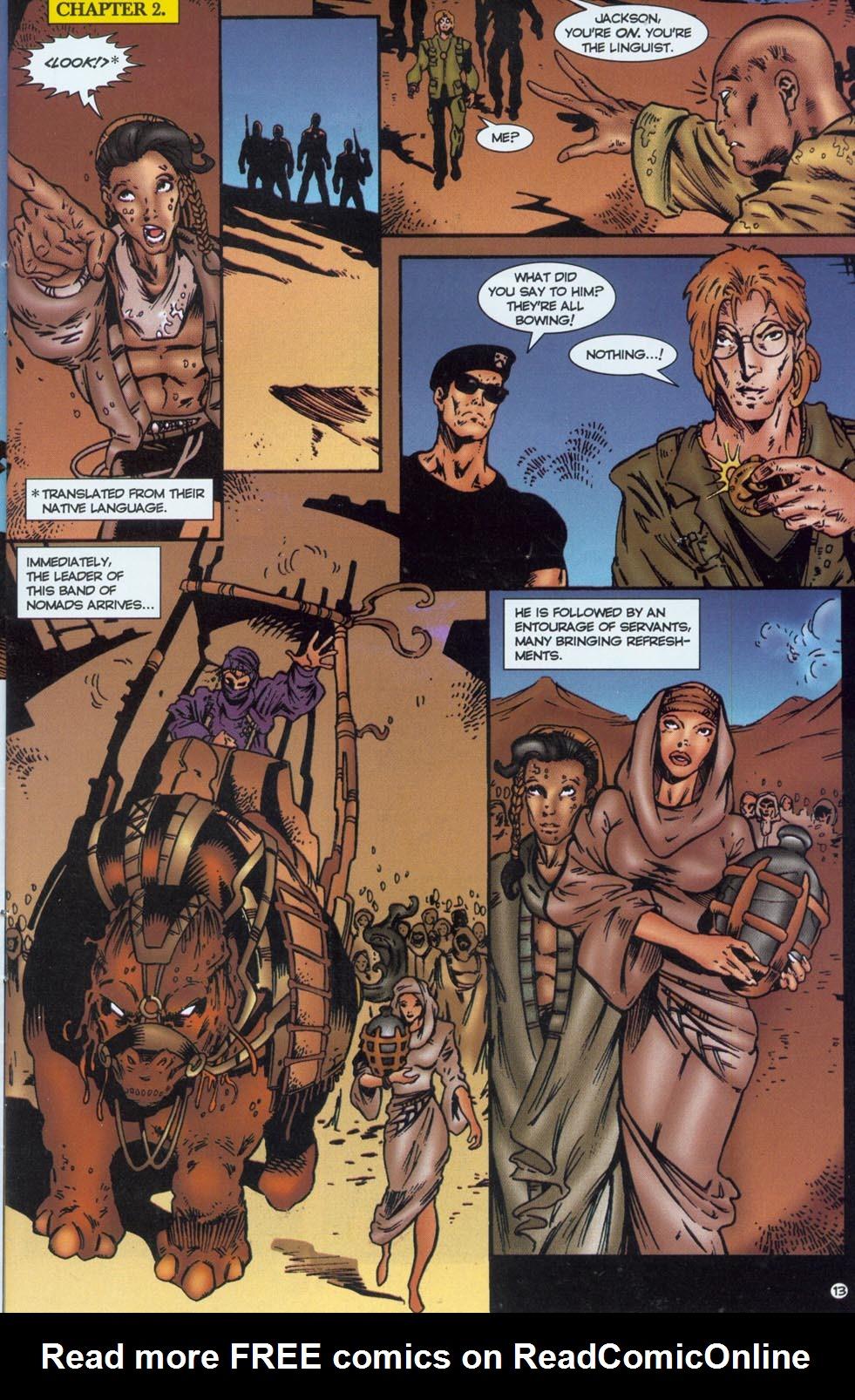 Read online Stargate comic -  Issue #1 - 15