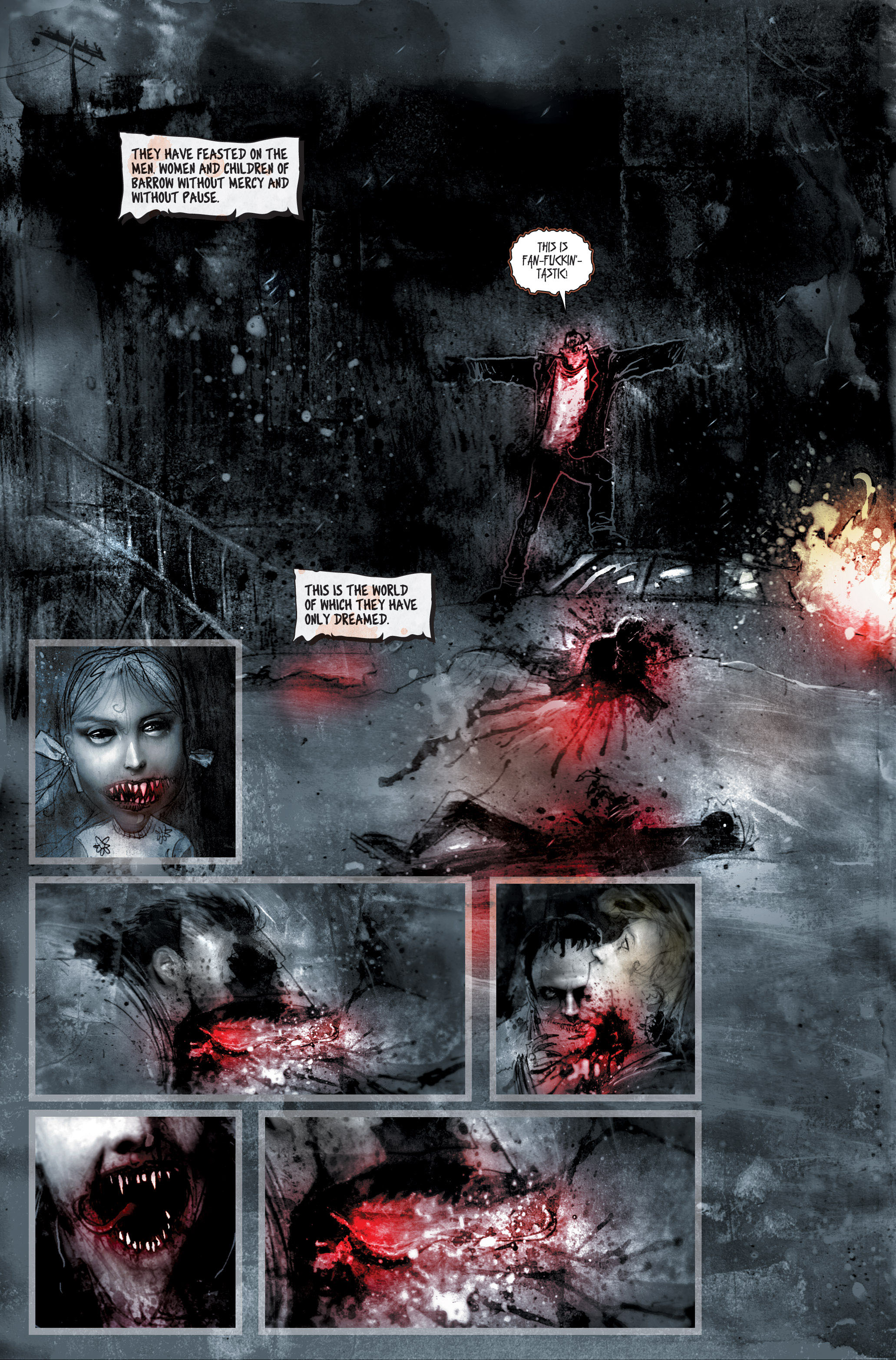 Read online 30 Days of Night (2002) comic -  Issue #2 - 4