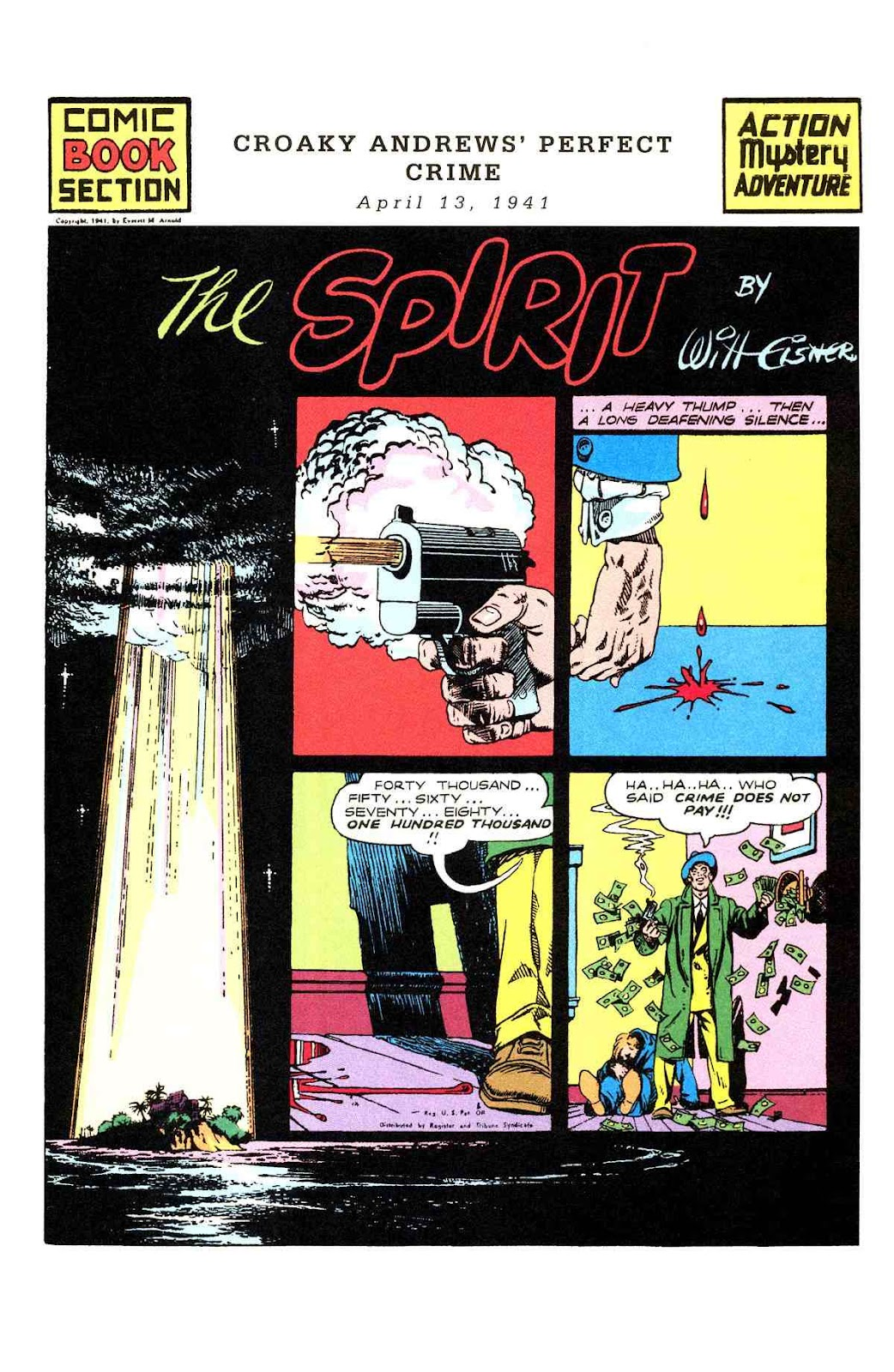 Read online Will Eisner's The Spirit Archives comic -  Issue # TPB 2 (Part 2) - 13