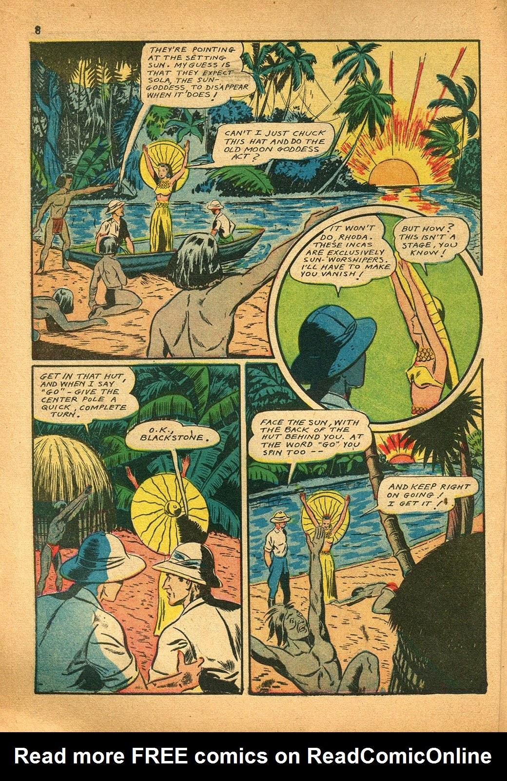 Read online Super-Magician Comics comic -  Issue #9 - 8