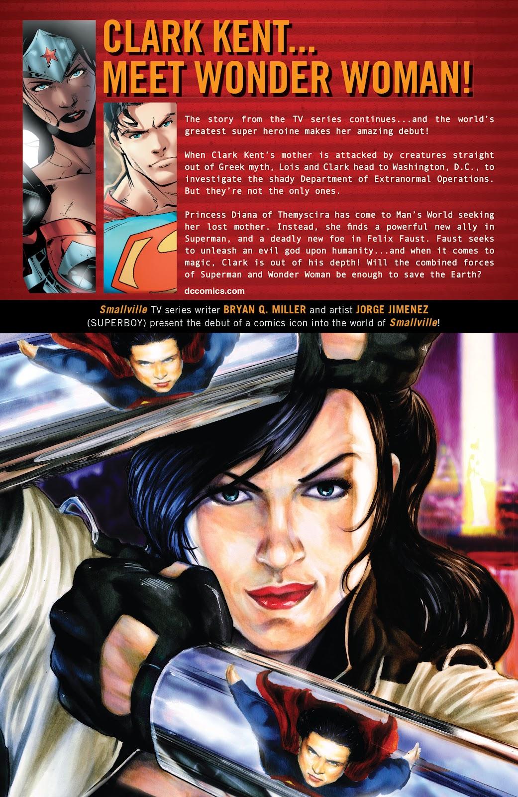 Read online Smallville Season 11 [II] comic -  Issue # TPB 5 - 143