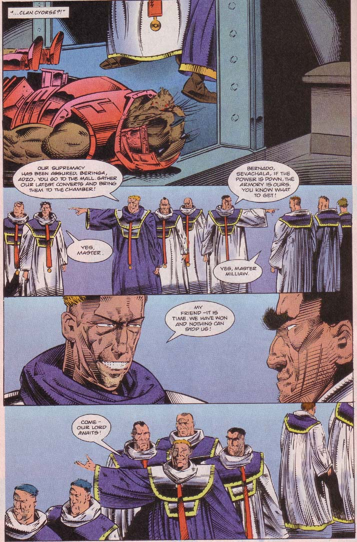 Read online Cyberspace 3000 comic -  Issue #5 - 5