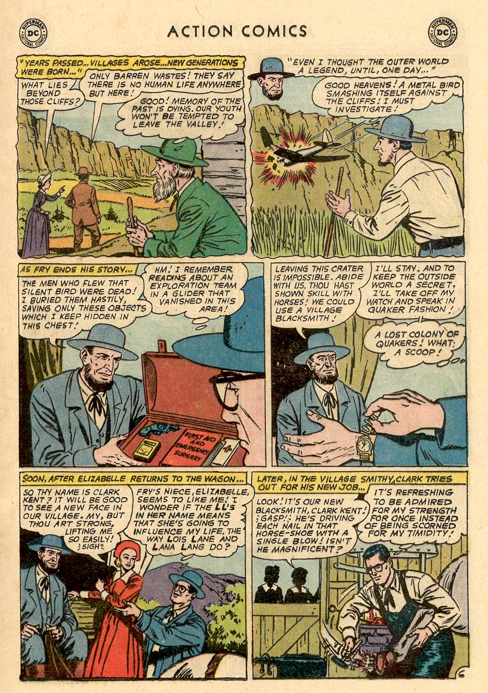 Read online Action Comics (1938) comic -  Issue #324 - 9