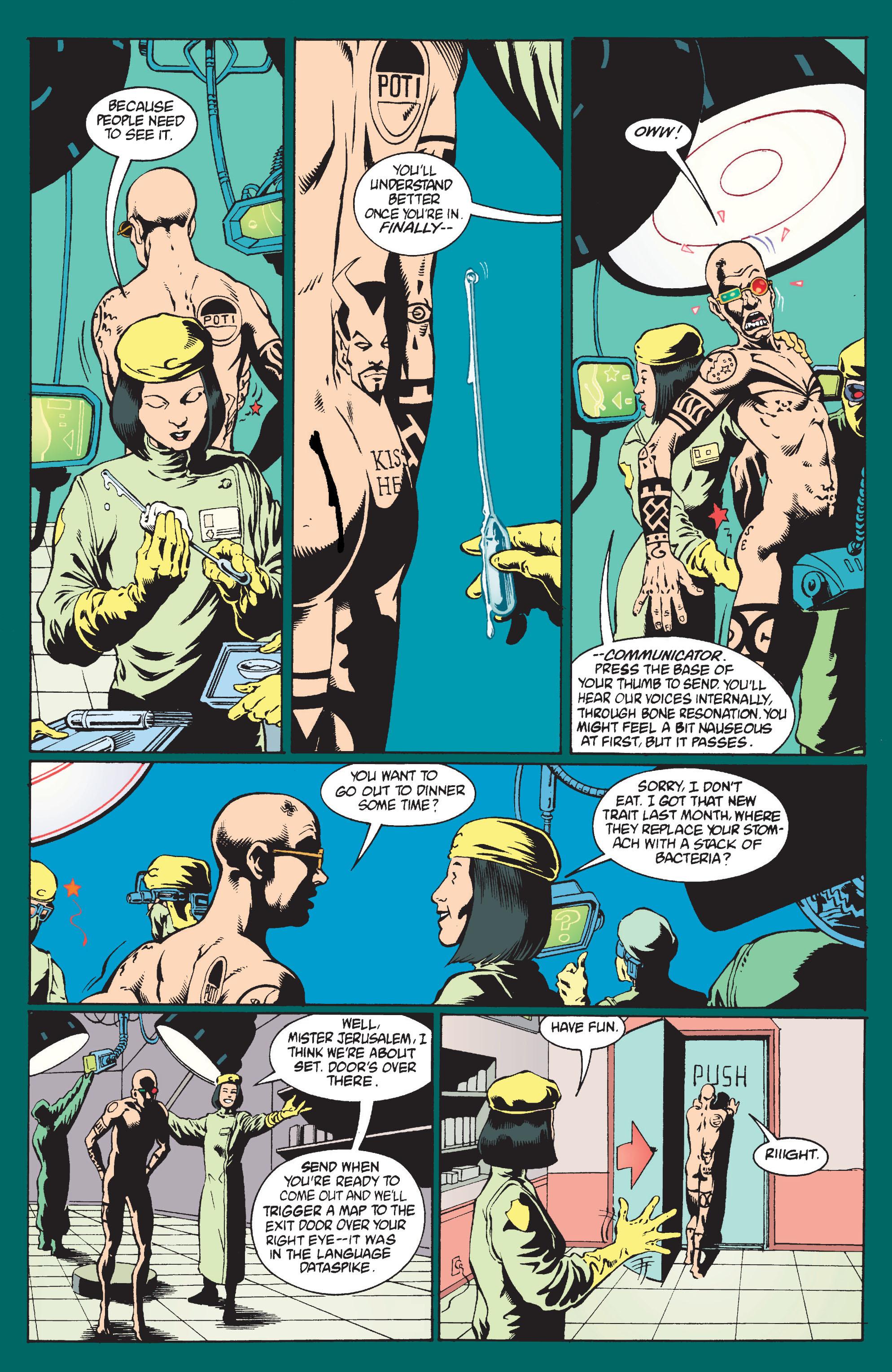 Read online Transmetropolitan comic -  Issue #9 - 11