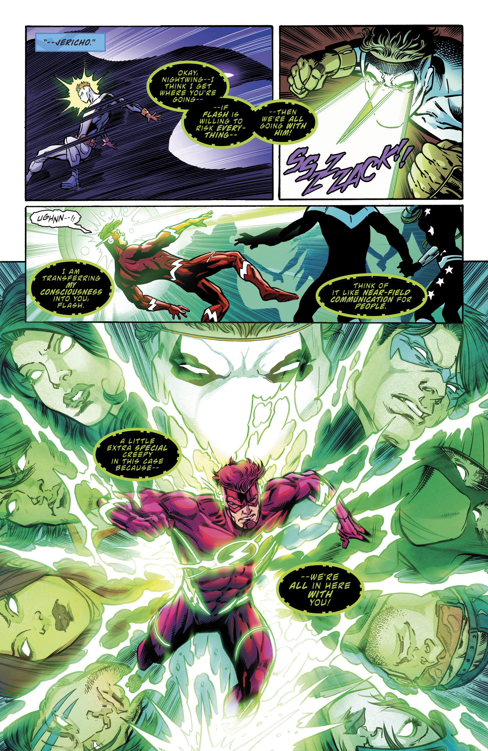 Read online Teen Titans (2016) comic -  Issue # Annual 1 - The Lazarus Contract Special 1 - 26