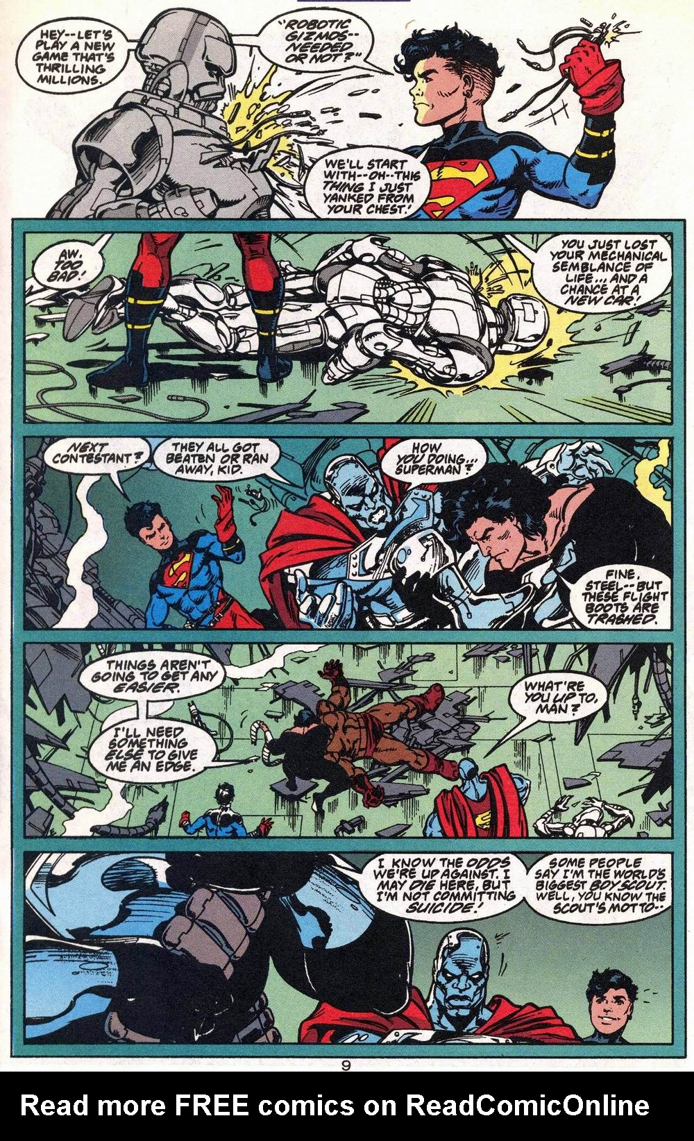 Read online Adventures of Superman (1987) comic -  Issue #504 - 10