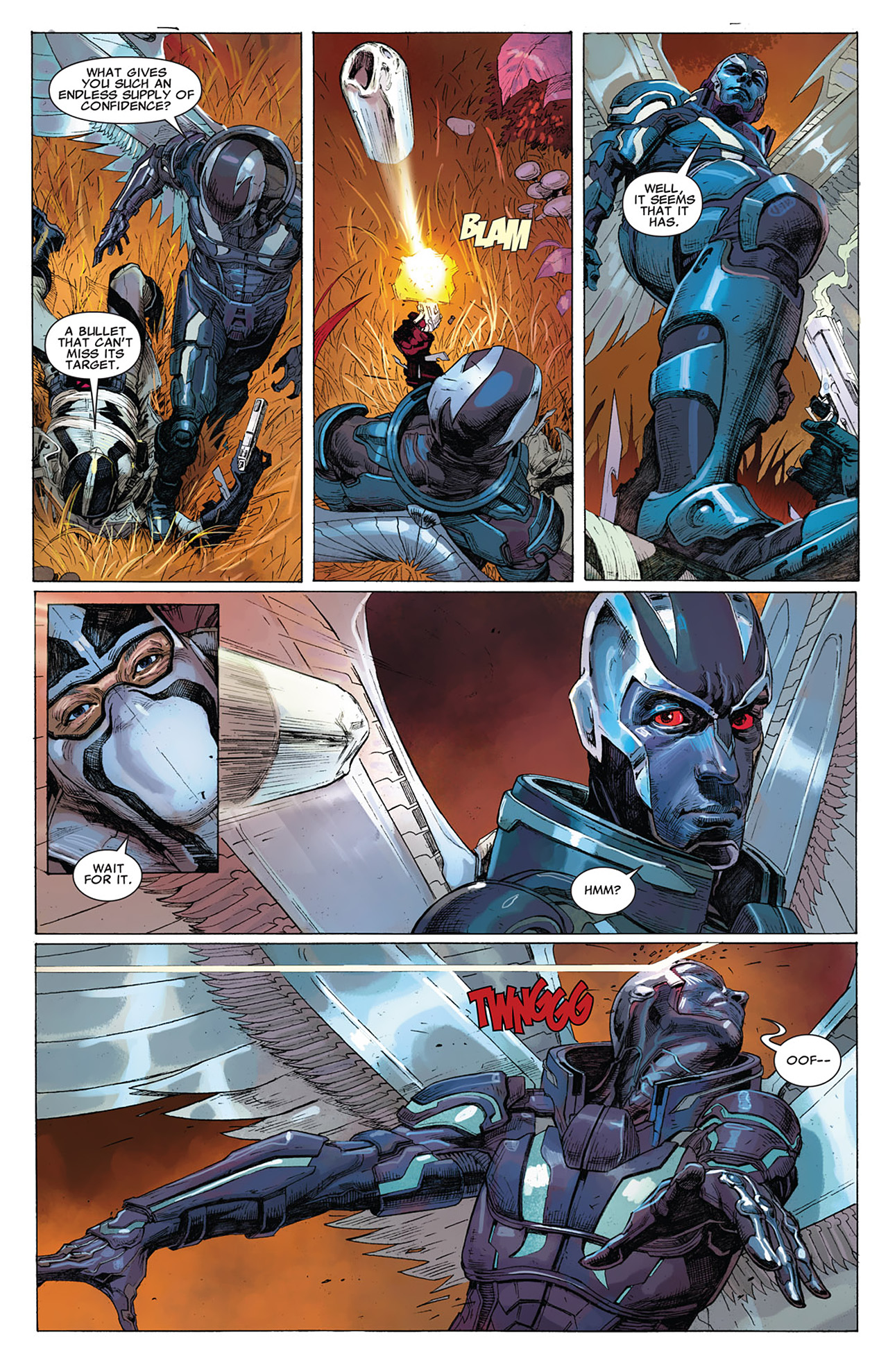 Read online Uncanny X-Force (2010) comic -  Issue #15 - 16