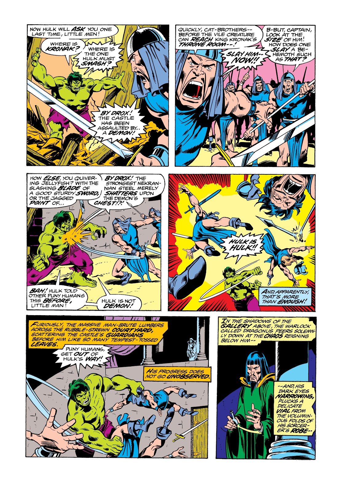 Read online Marvel Masterworks: The Incredible Hulk comic -  Issue # TPB 12 (Part 2) - 26