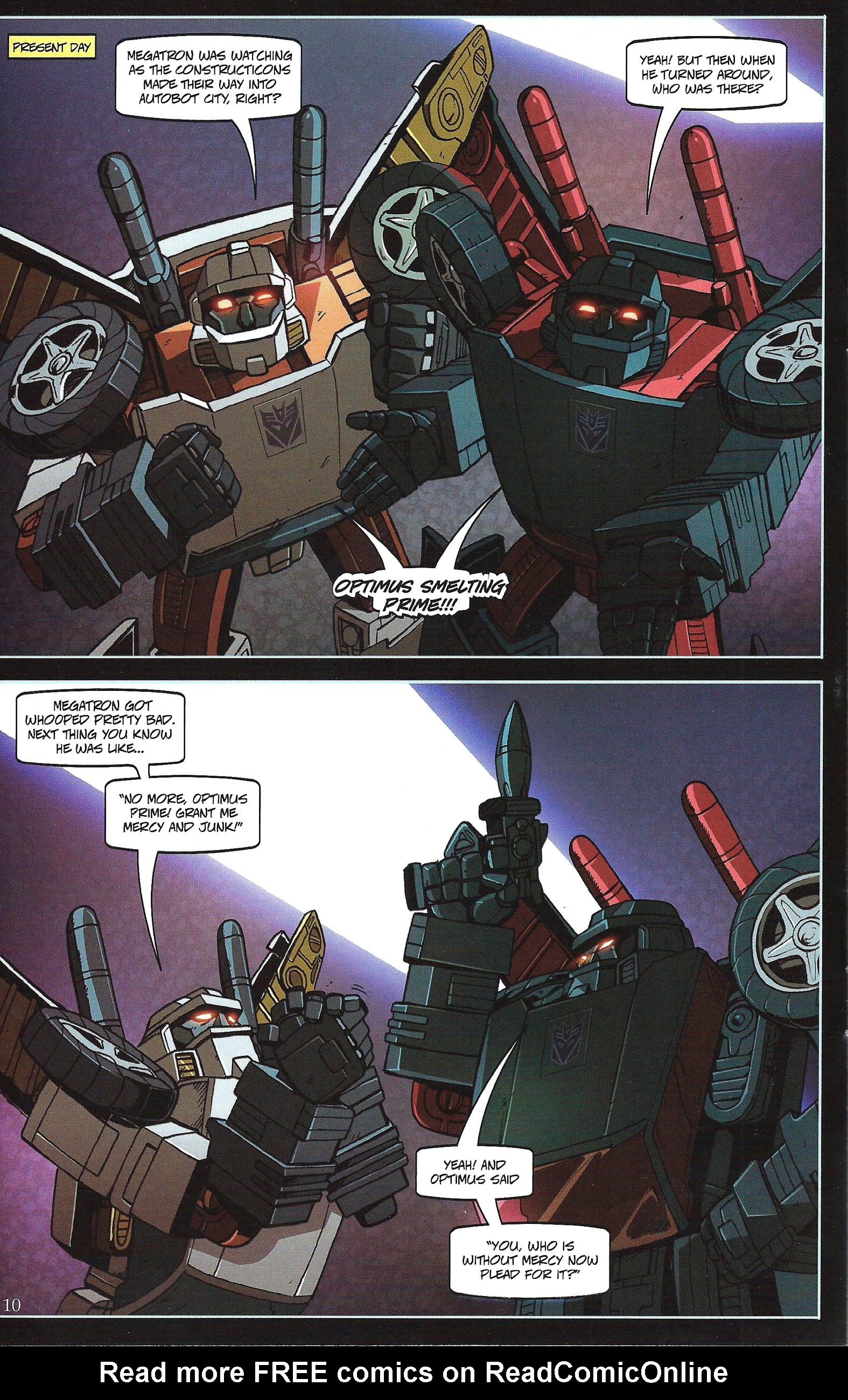 Read online Transformers: Collectors' Club comic -  Issue #43 - 10
