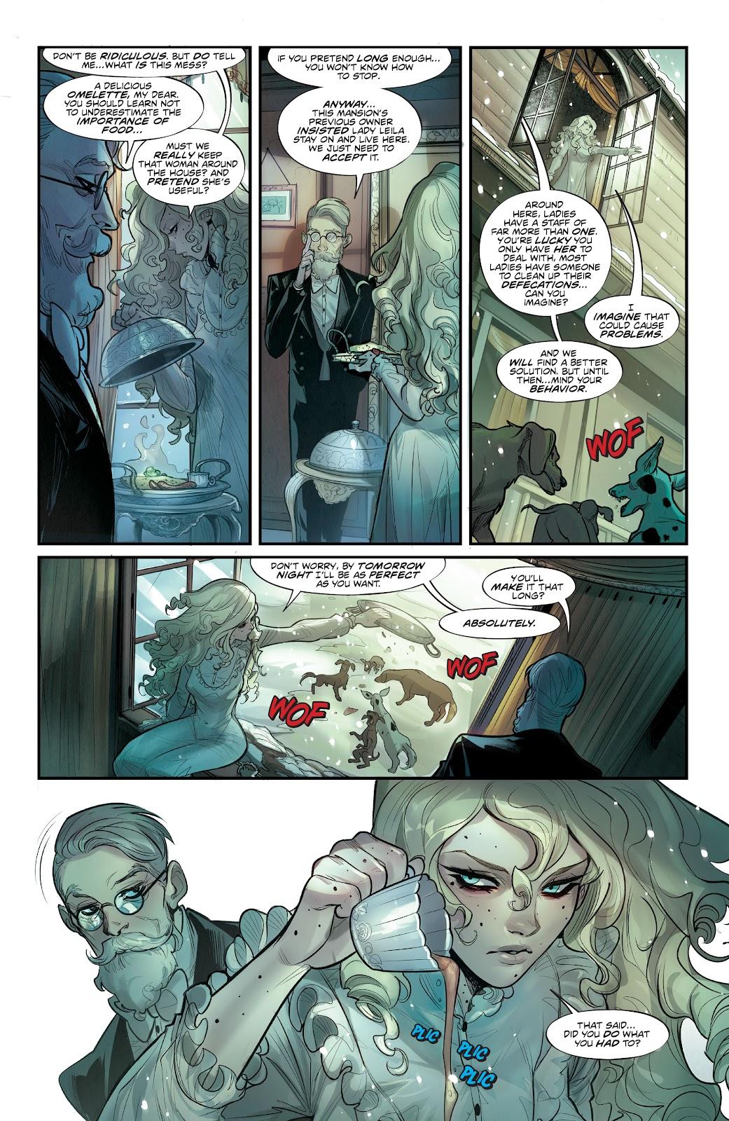 Read online Mirka Andolfo's Mercy comic -  Issue #2 - 8