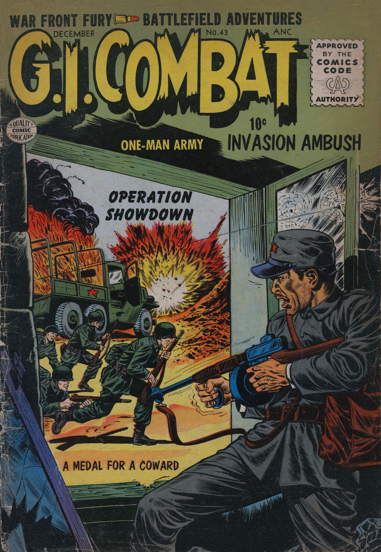G.I. Combat (1952) 43 Page 1