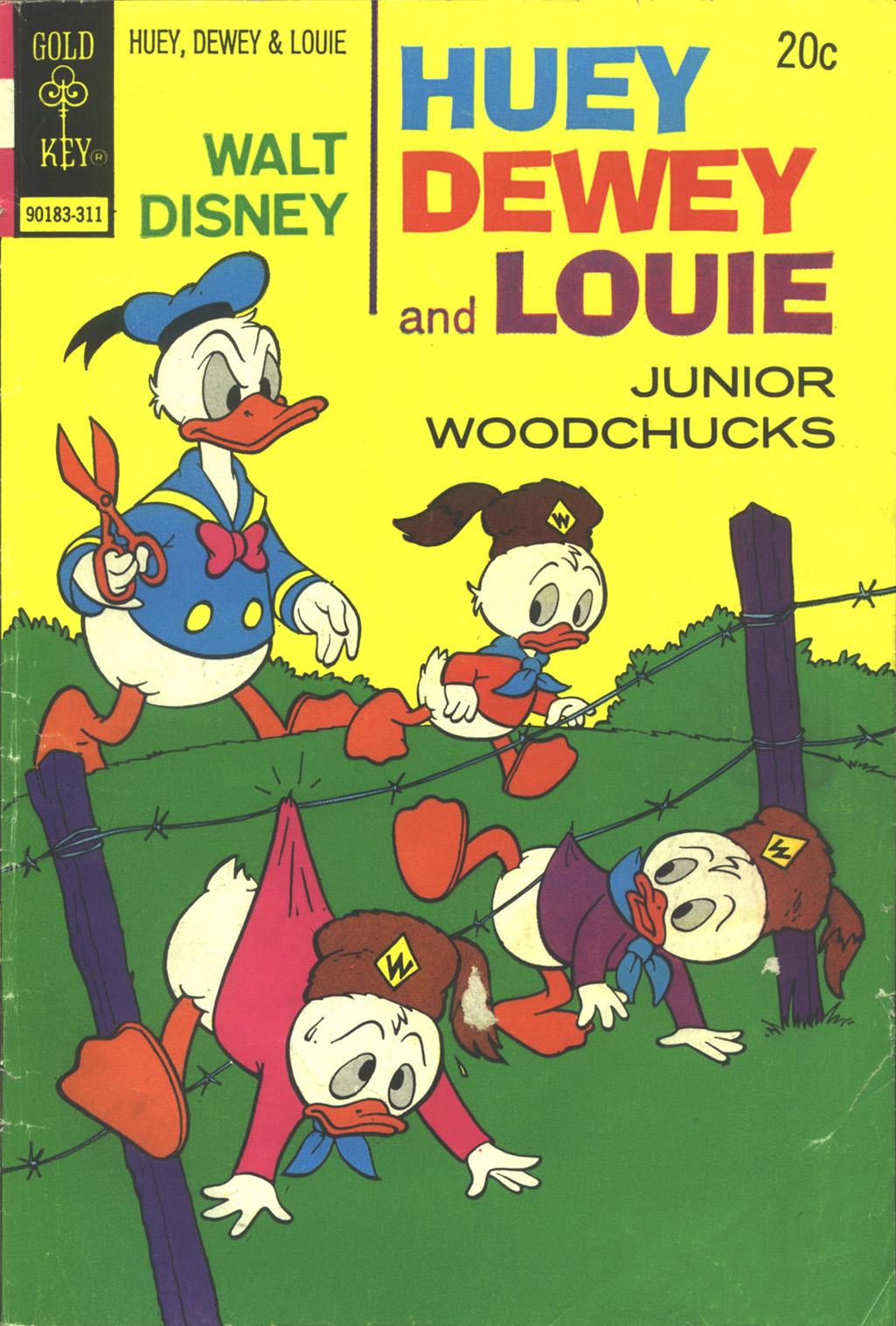Huey, Dewey, and Louie Junior Woodchucks 23 Page 1