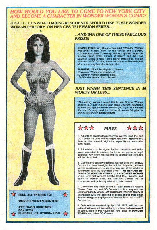 Read online Wonder Woman (1942) comic -  Issue #255 - 17