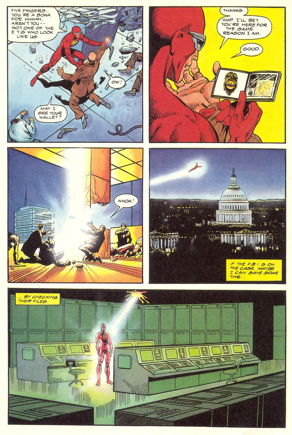Read online Solar, Man of the Atom comic -  Issue #8 - 15