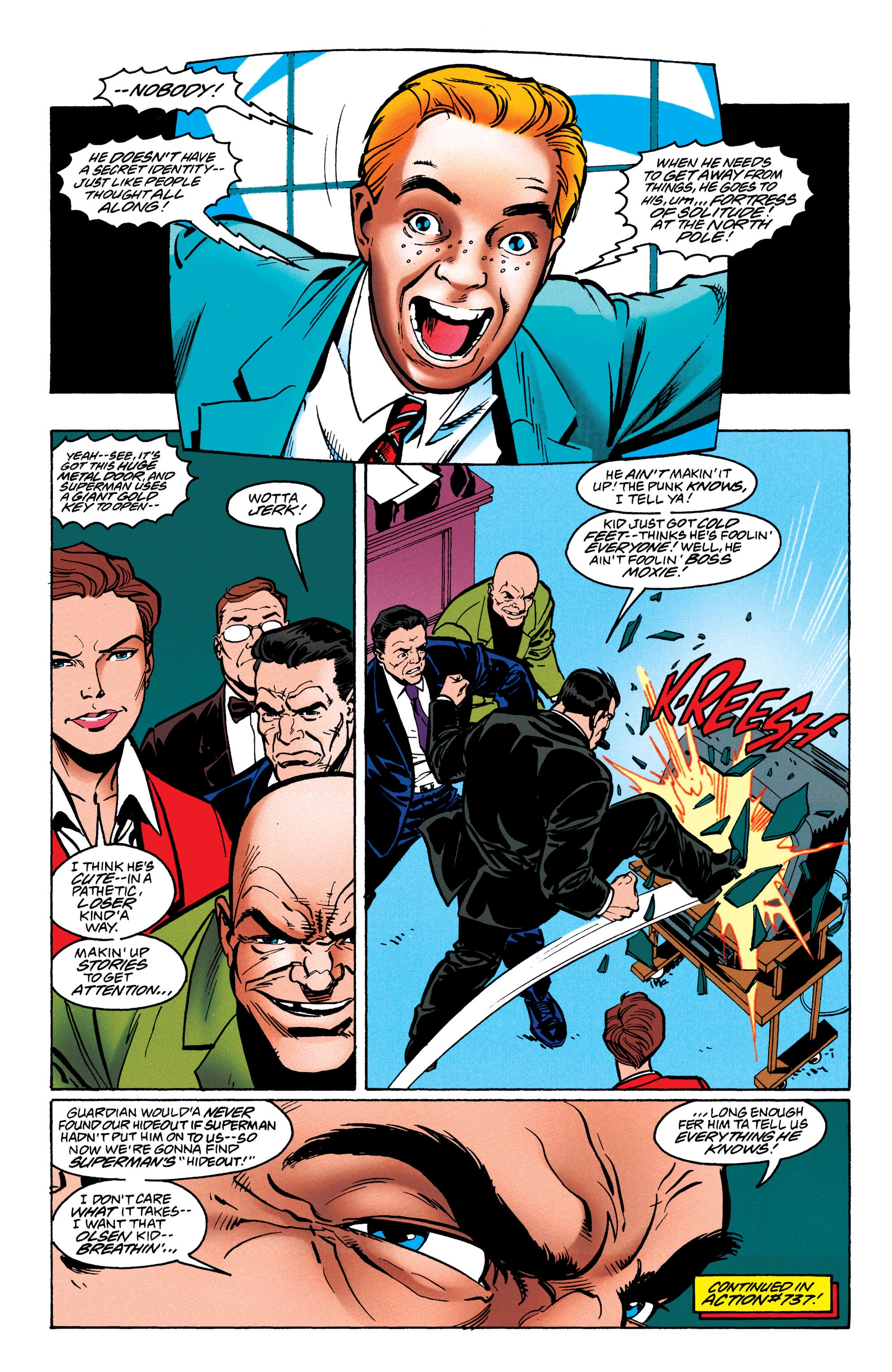 Adventures of Superman (1987) issue 550 - Page 39
