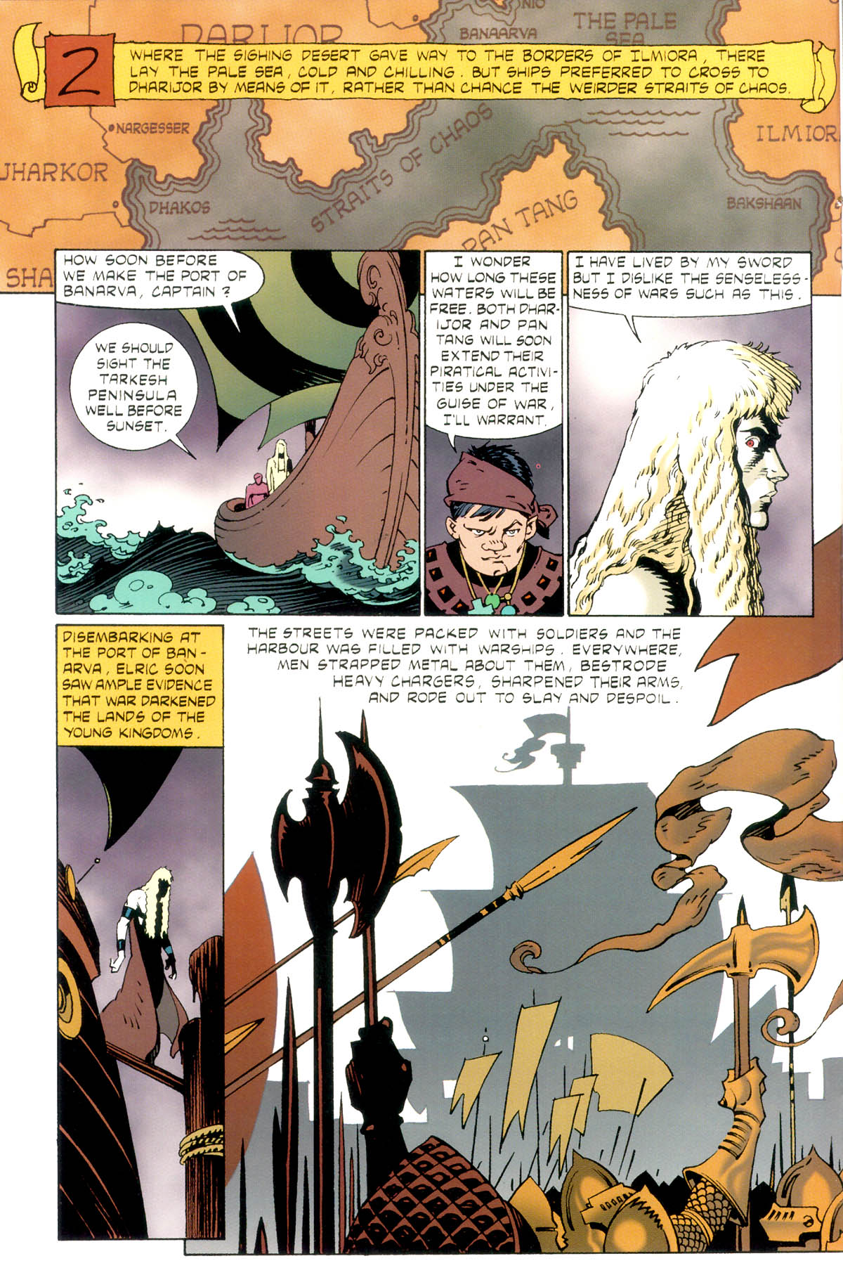 Read online Elric: Stormbringer comic -  Issue #1 - 14