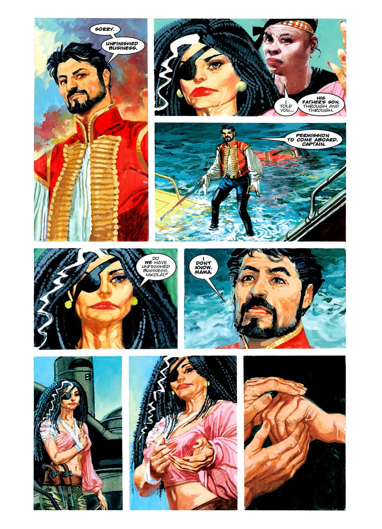 Read online Nikolai Dante comic -  Issue # TPB 6 - 131