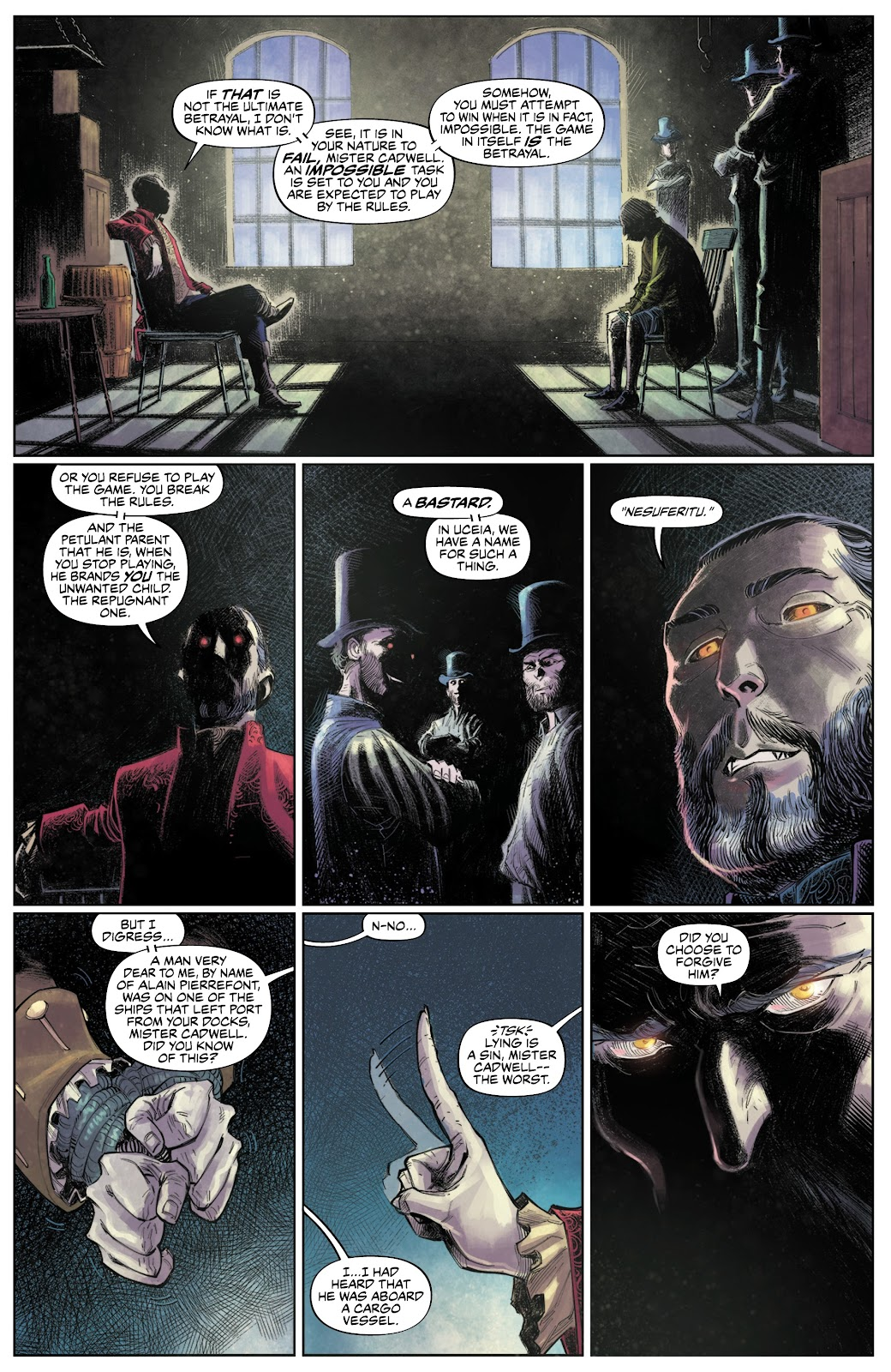 Read online These Savage Shores comic -  Issue #3 - 10
