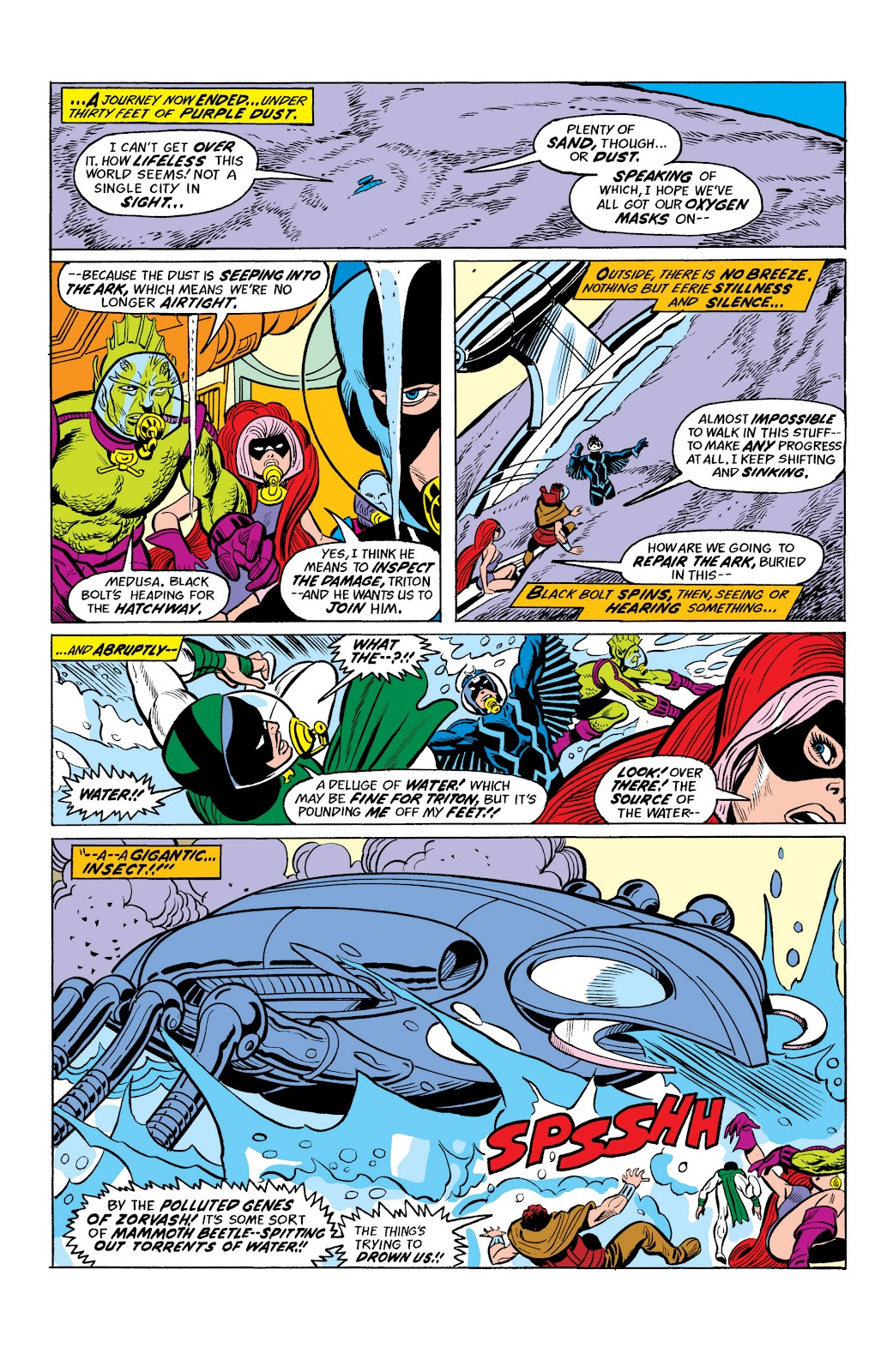 Read online Marvel Masterworks: The Inhumans comic -  Issue # TPB 2 (Part 2) - 25