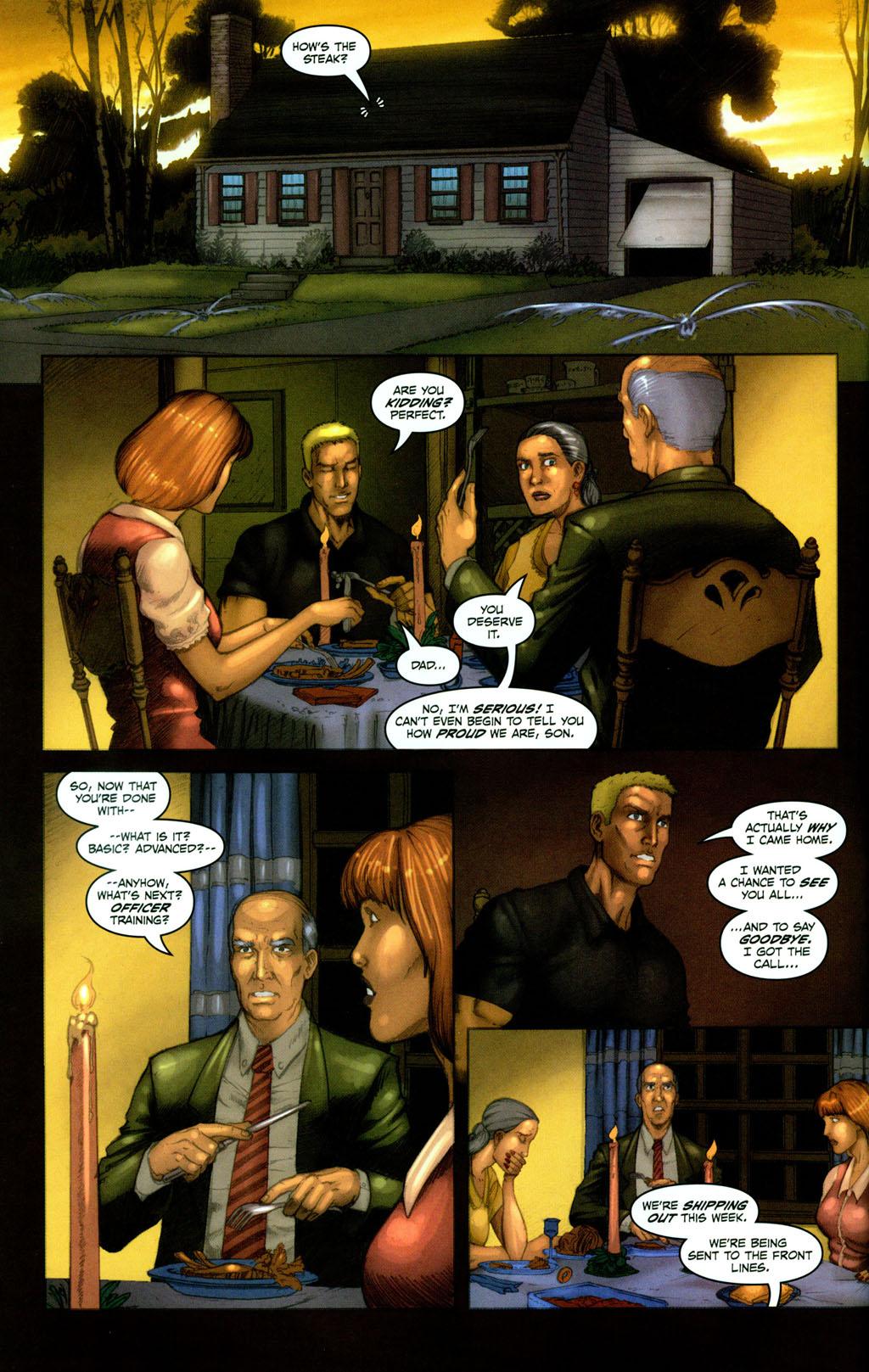 Read online Snake Eyes: Declassified comic -  Issue #1 - 4