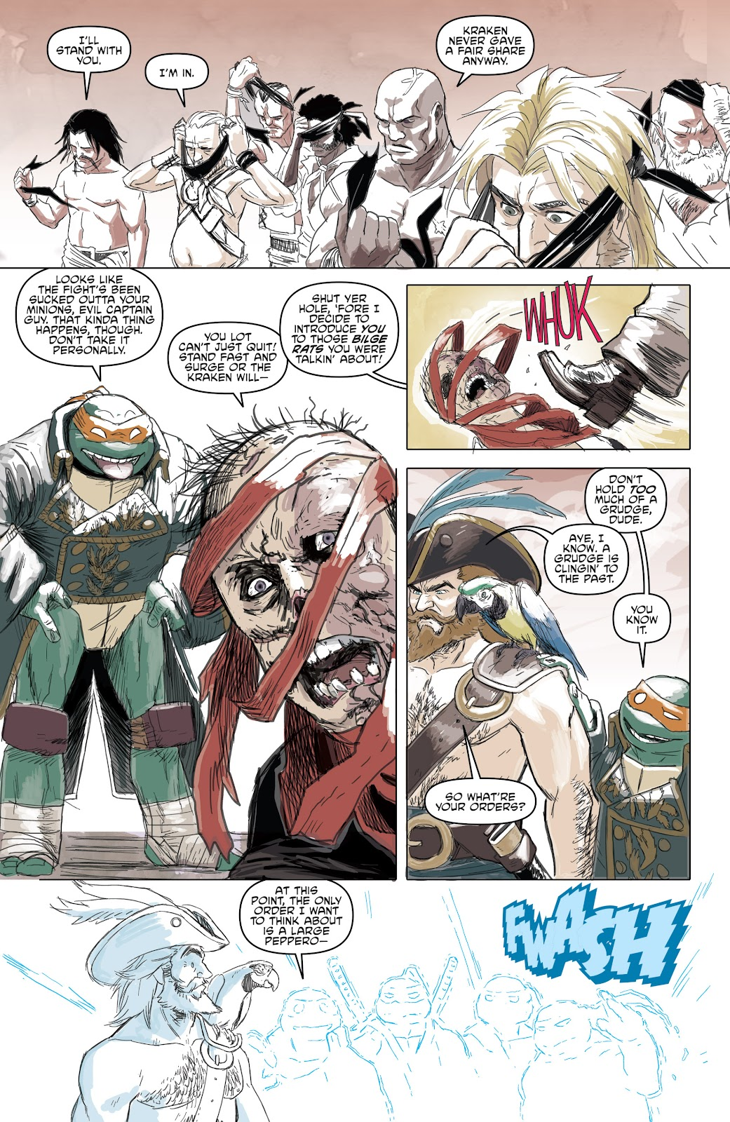 Read online Teenage Mutant Ninja Turtles: The IDW Collection comic -  Issue # TPB 5 (Part 1) - 72