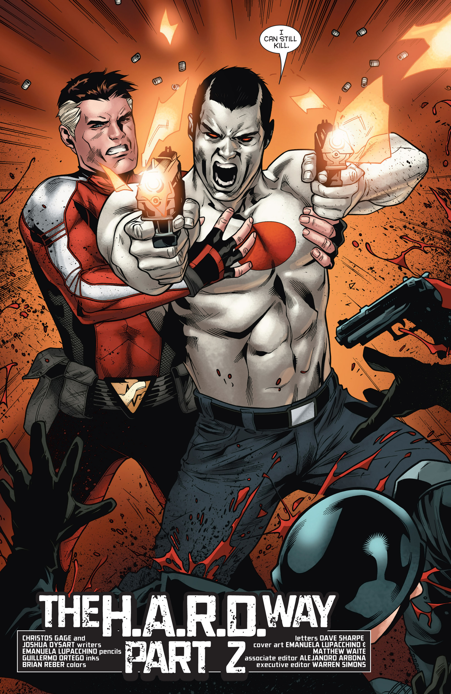 Read online Bloodshot and H.A.R.D.Corps comic -  Issue #15 - 4