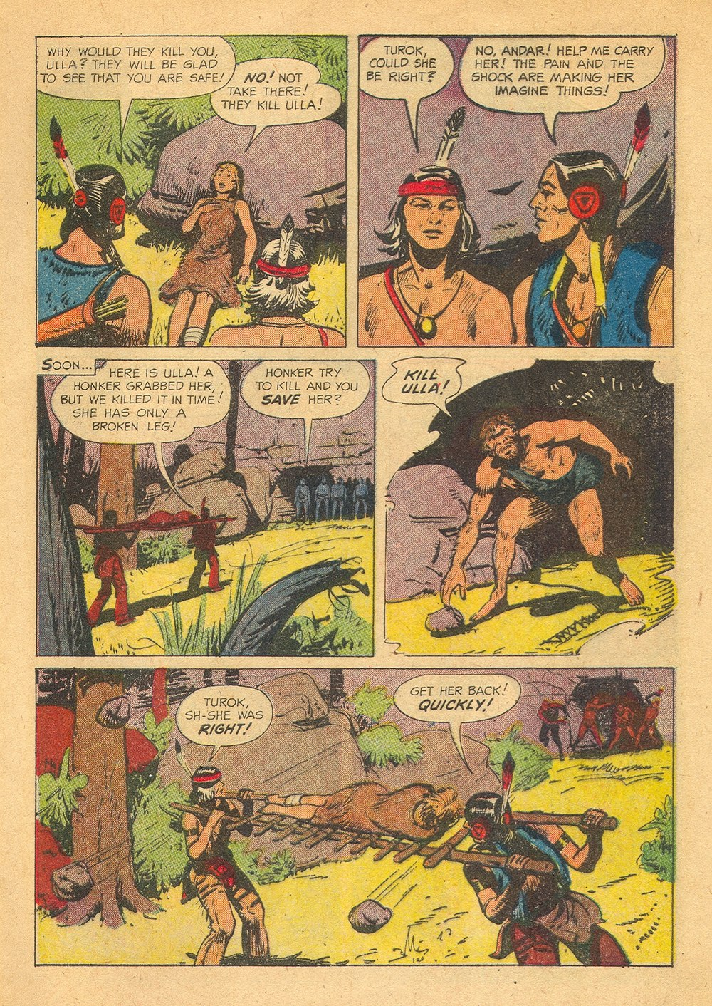 Read online Turok, Son of Stone comic -  Issue #23 - 5