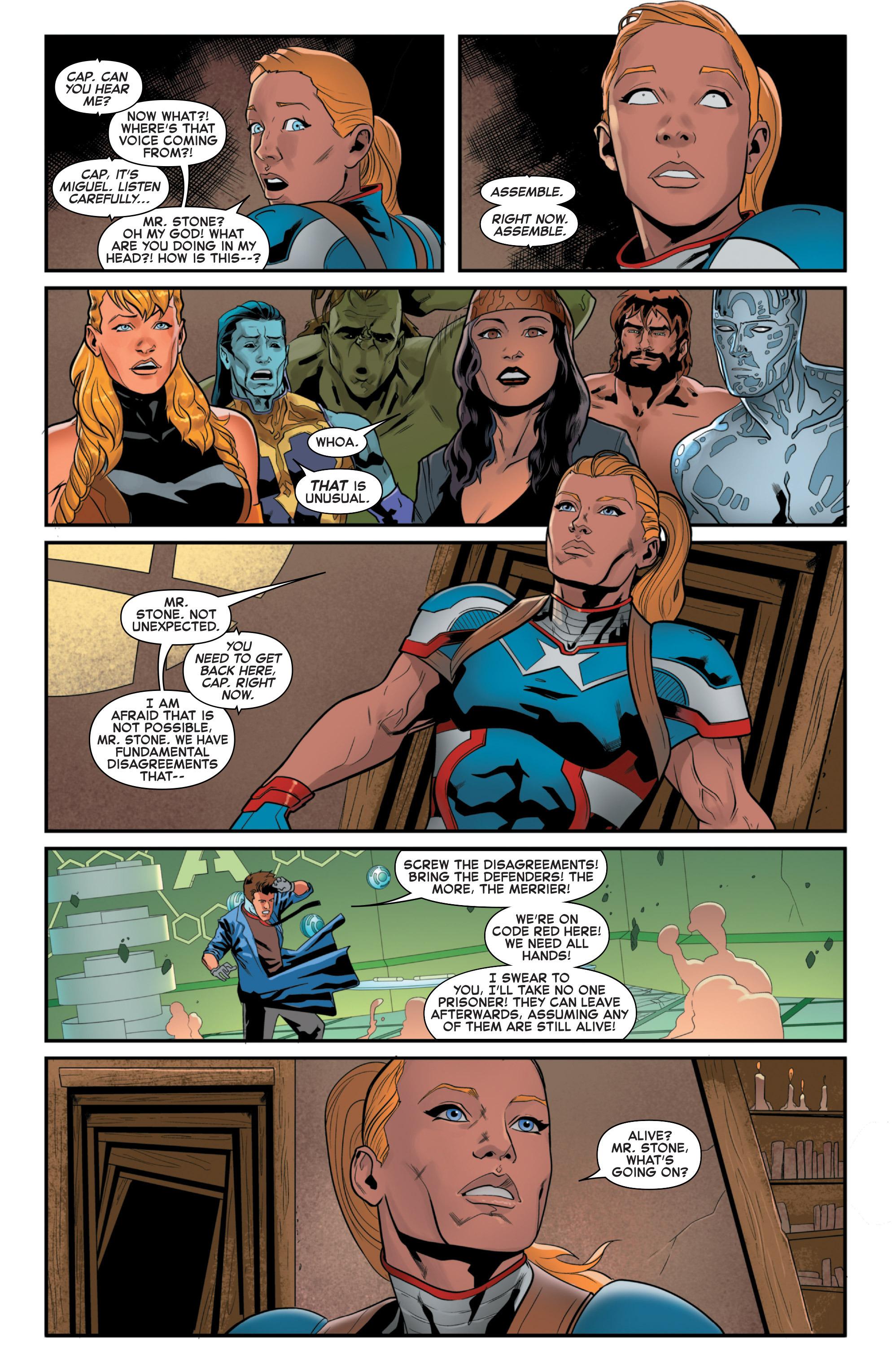 Read online Secret Wars 2099 comic -  Issue #5 - 5
