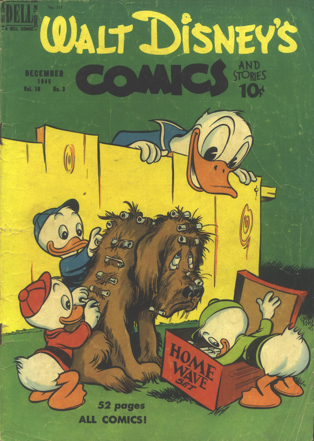 Walt Disneys Comics and Stories 111 Page 1